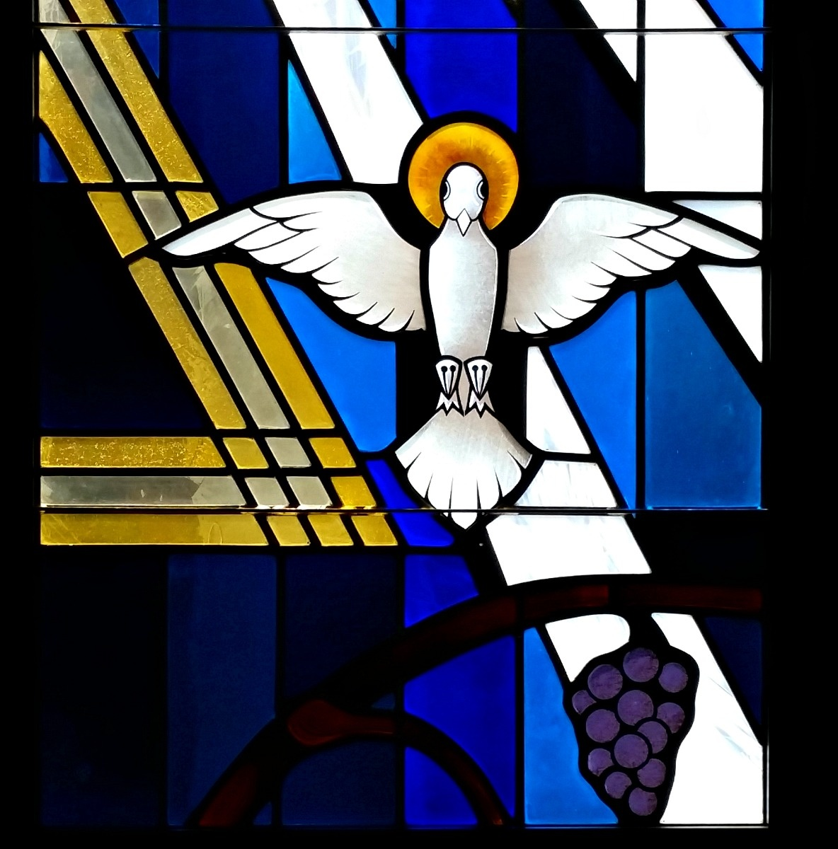 Small Stained Glass, Swedish Covenant Hospital Chapel by Hal Stedman