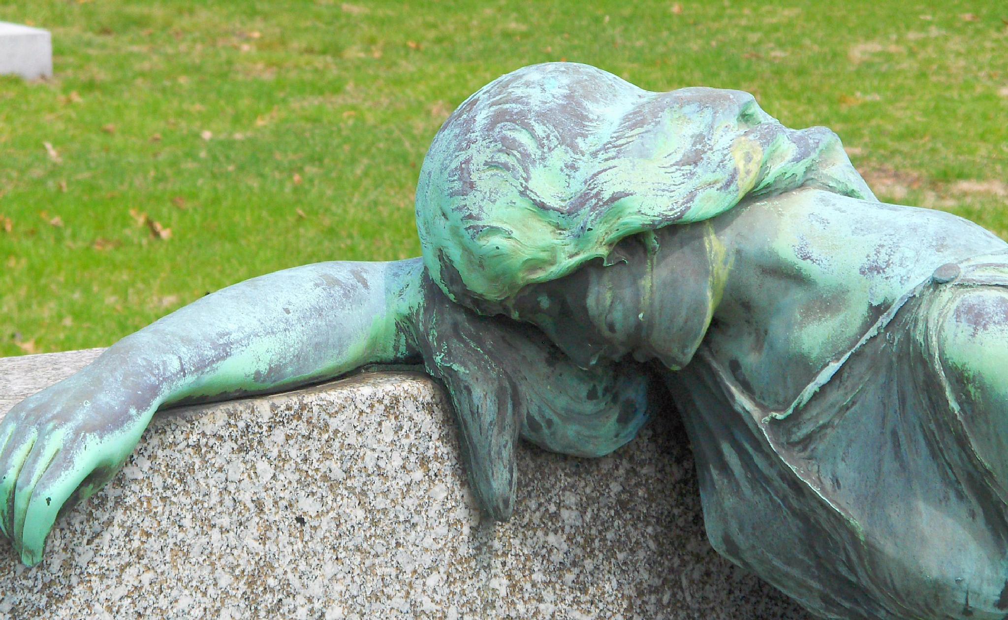Grief. Color by Hal Stedman