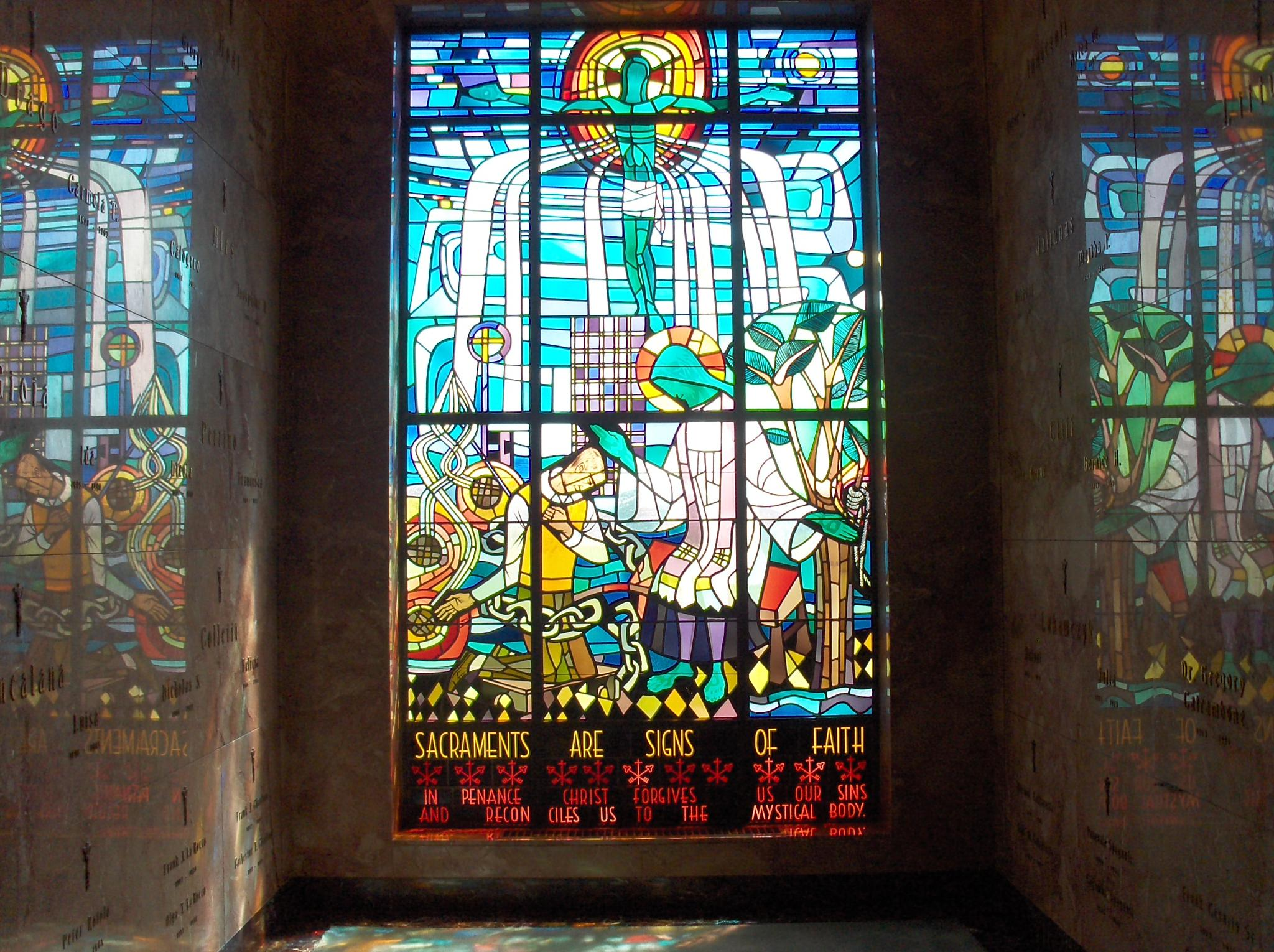 Stained Glass by Hal Stedman