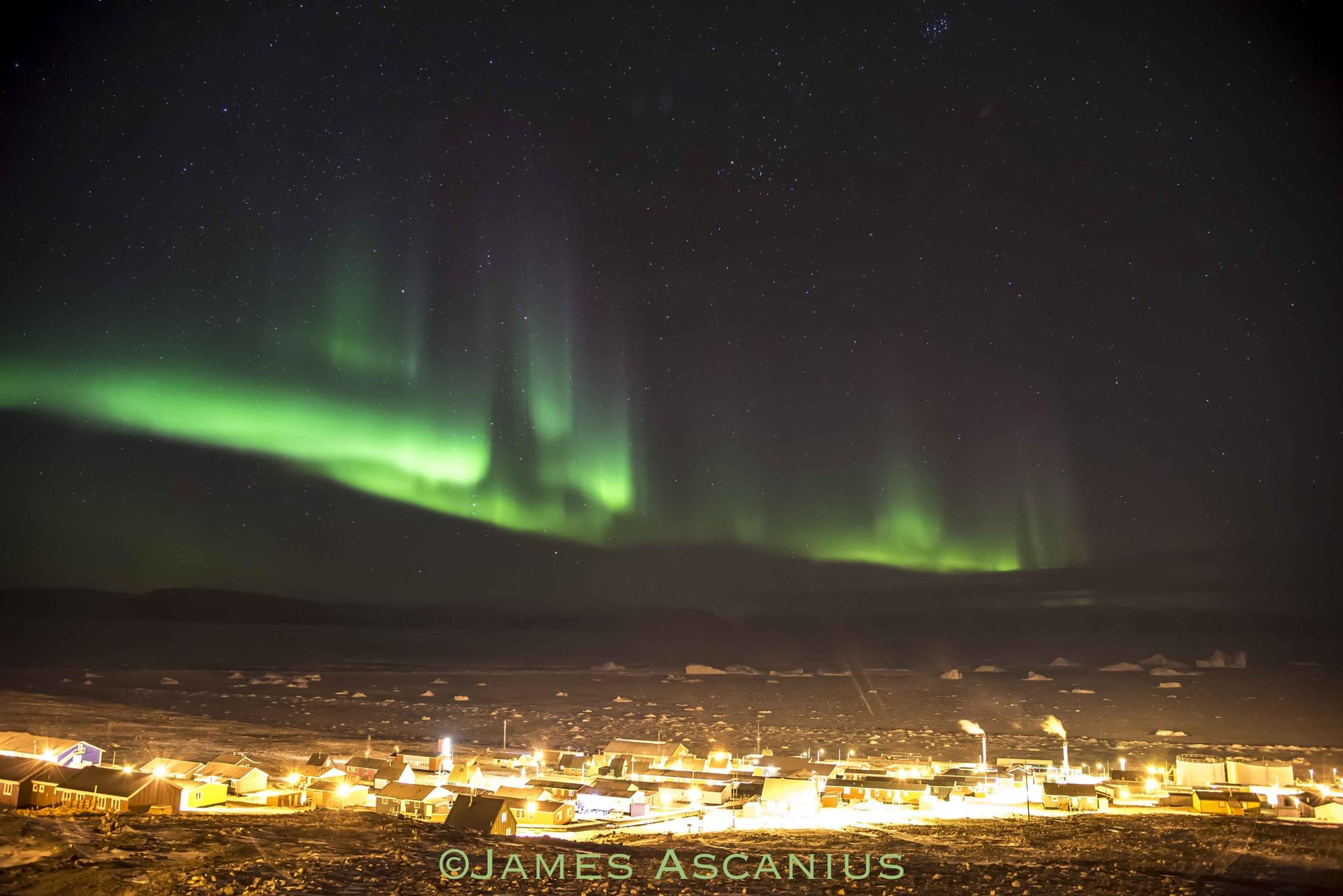 Aurora photography by James Ascanius