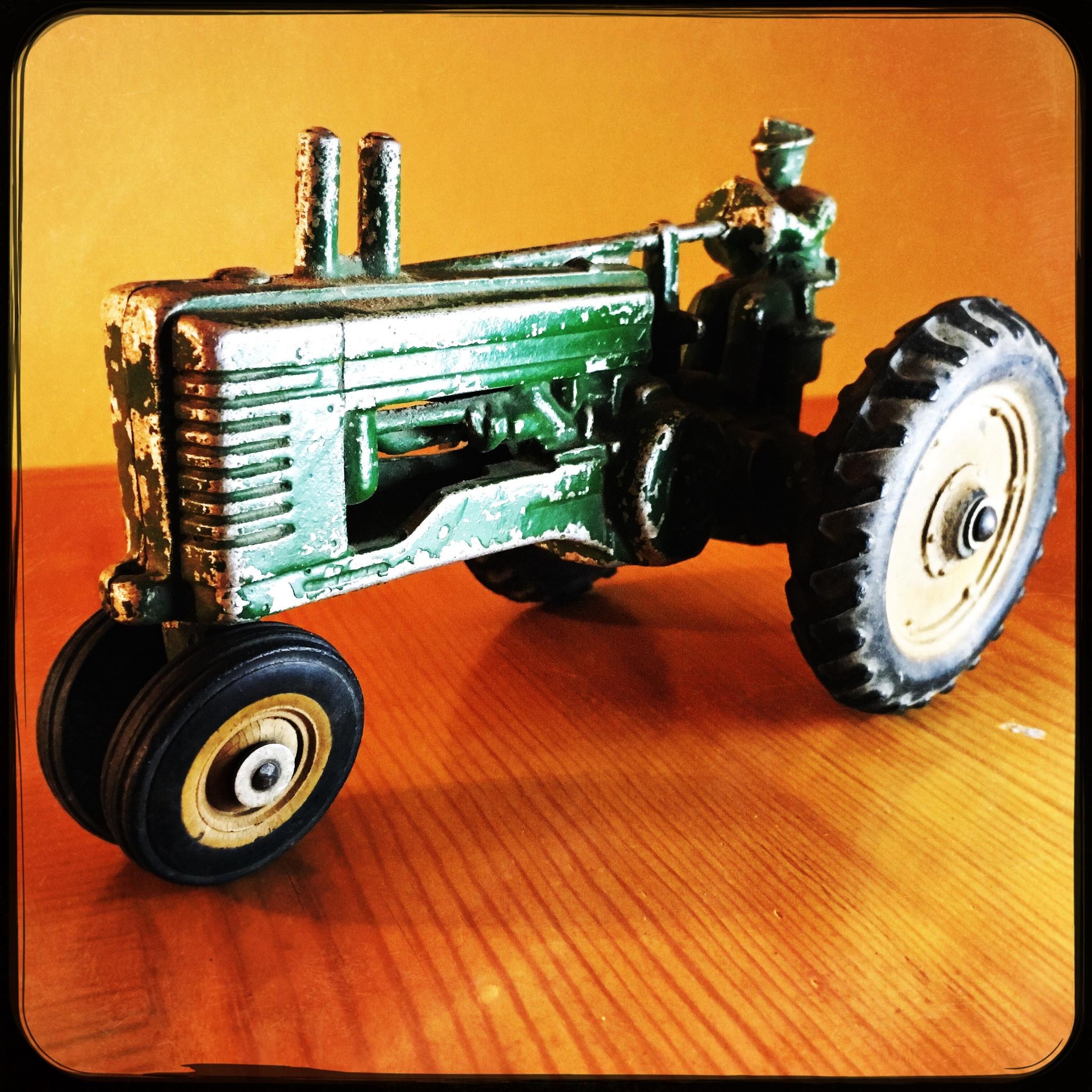 Toy Tractor by Jeff Jones