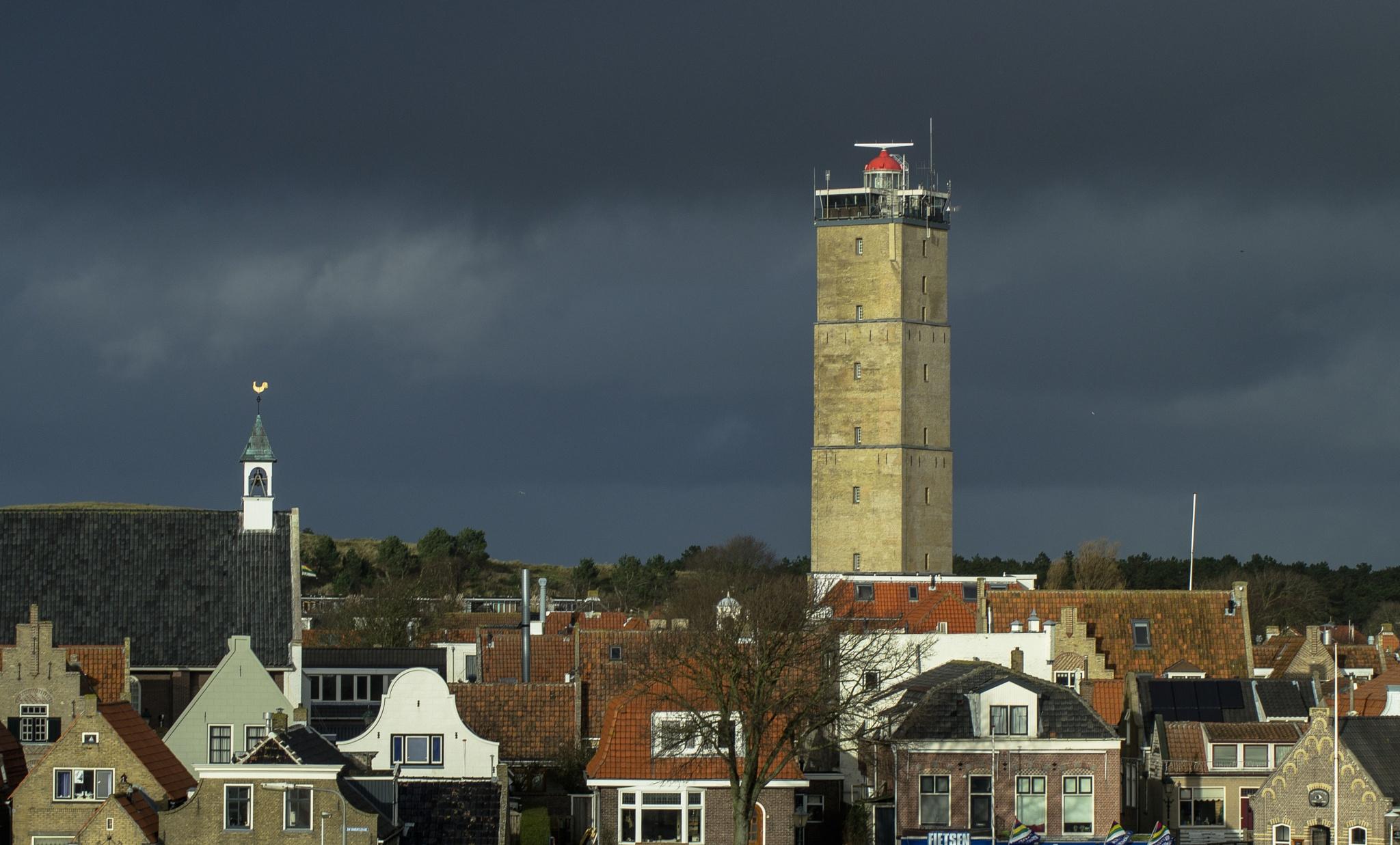The Brandaris , lighthouse on Terschelling by Roelof de Haan