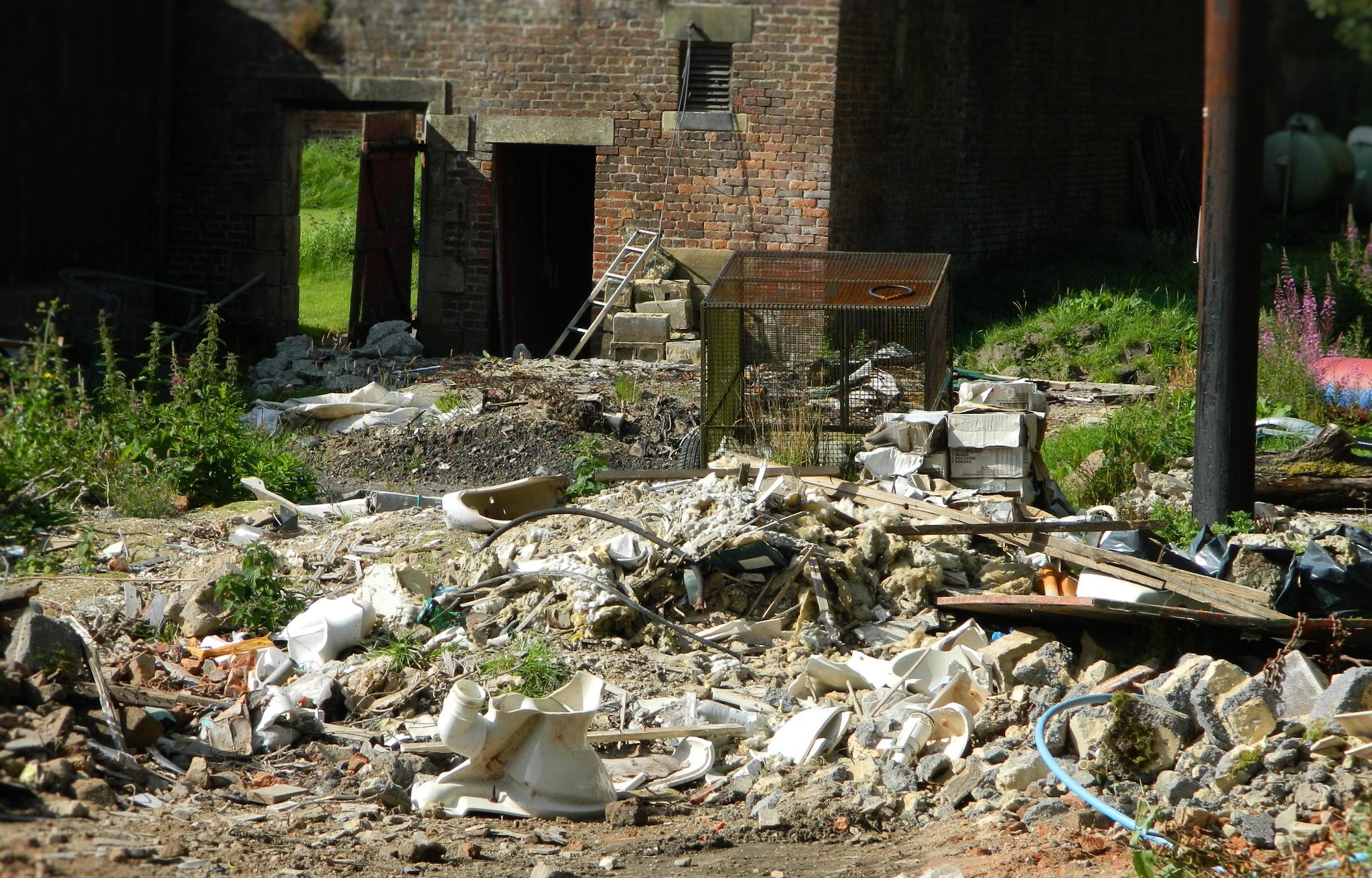 left waste  by bryan dellbridge