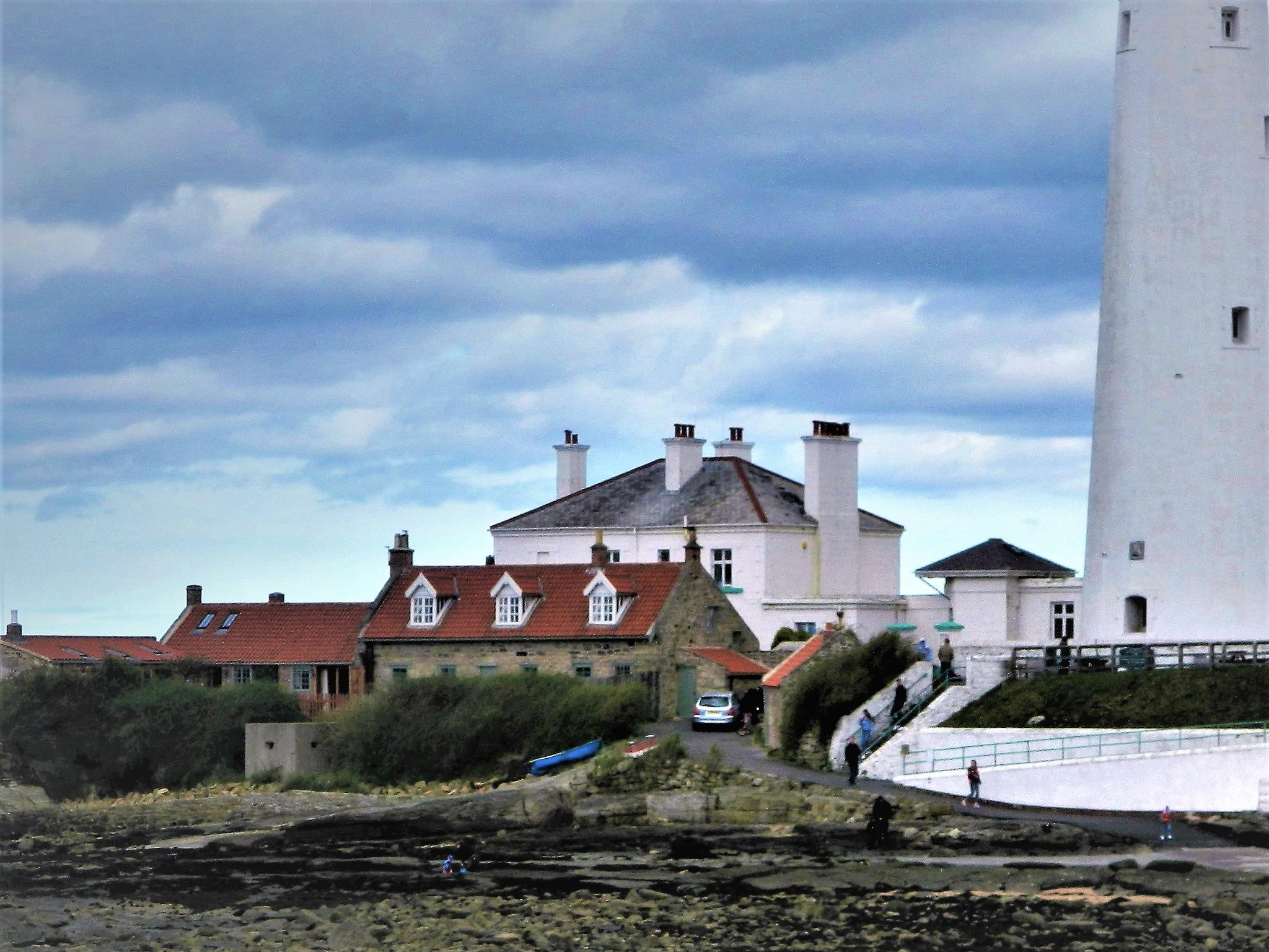 Saint mary's , Whitley bay  by bryan dellbridge