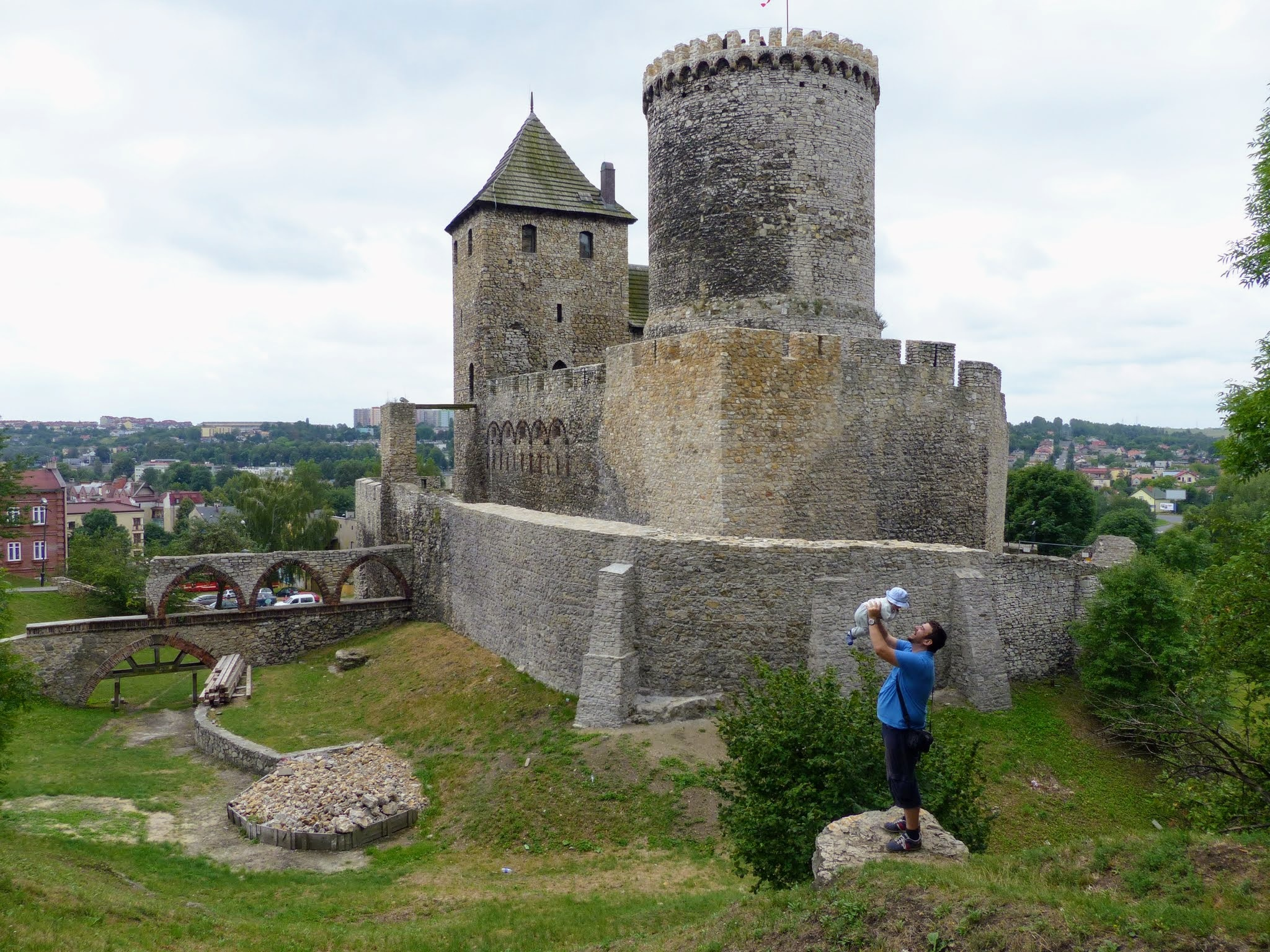 Będzin Castle by emalfni