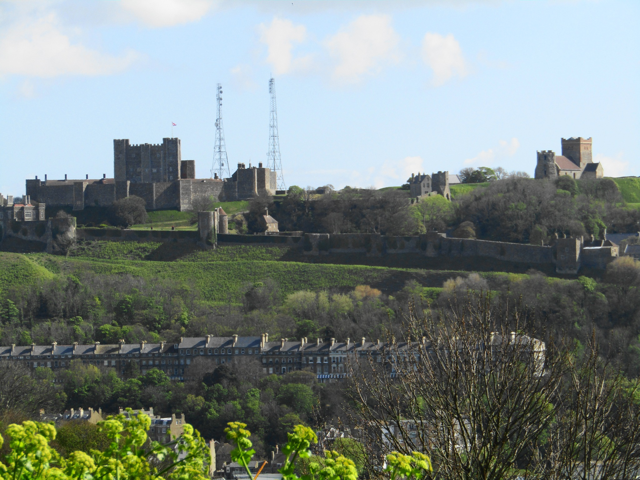 DOVER CASTLE by mikewoodland21