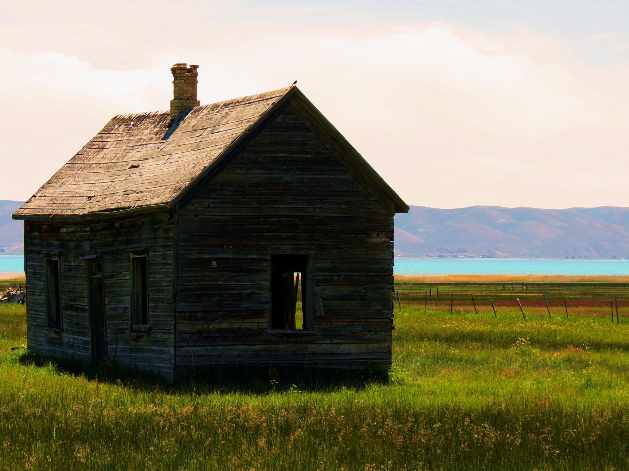 Abandoned on Bear Lake by Lisa Rimlinger