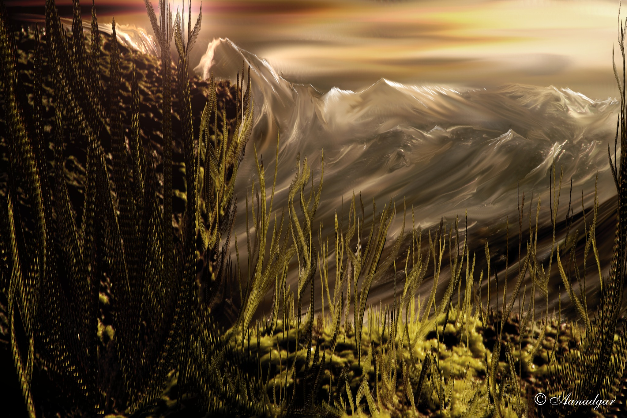 Vieja montaña by Anadgar03