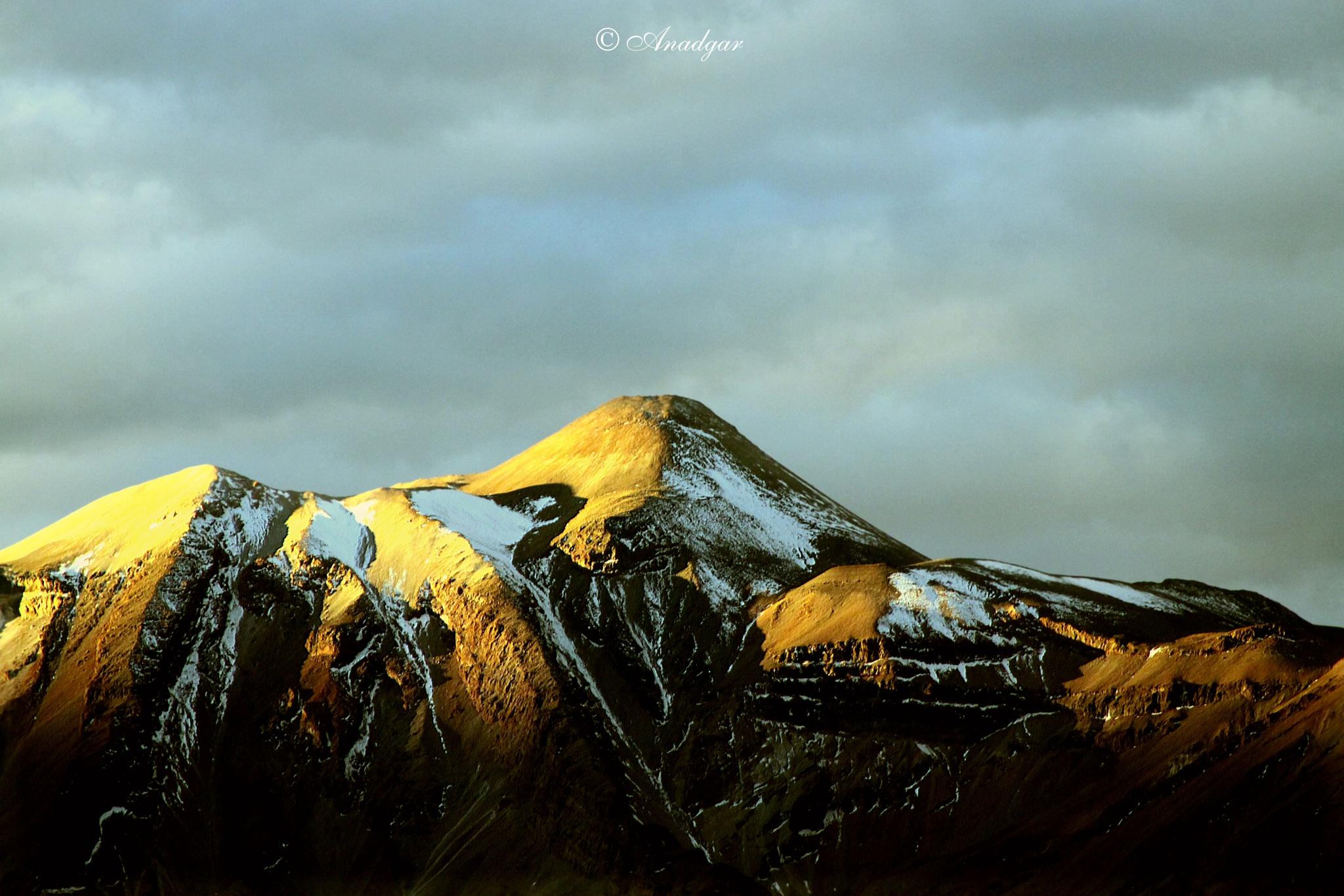 Photo in Landscape #los andes #cordillera #volcan