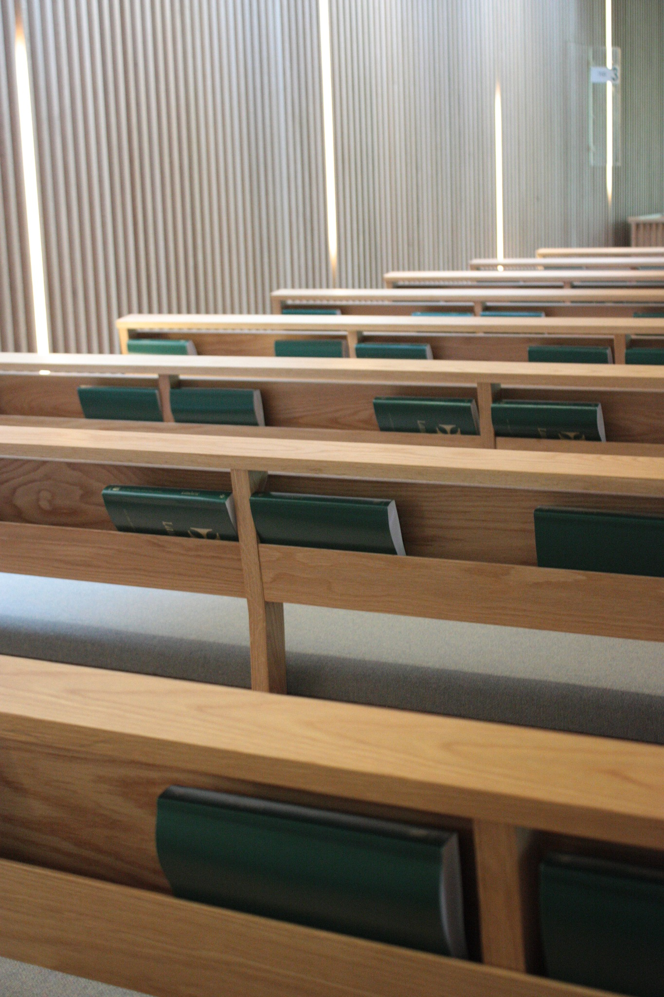 pews and hymn books by stephencdickson