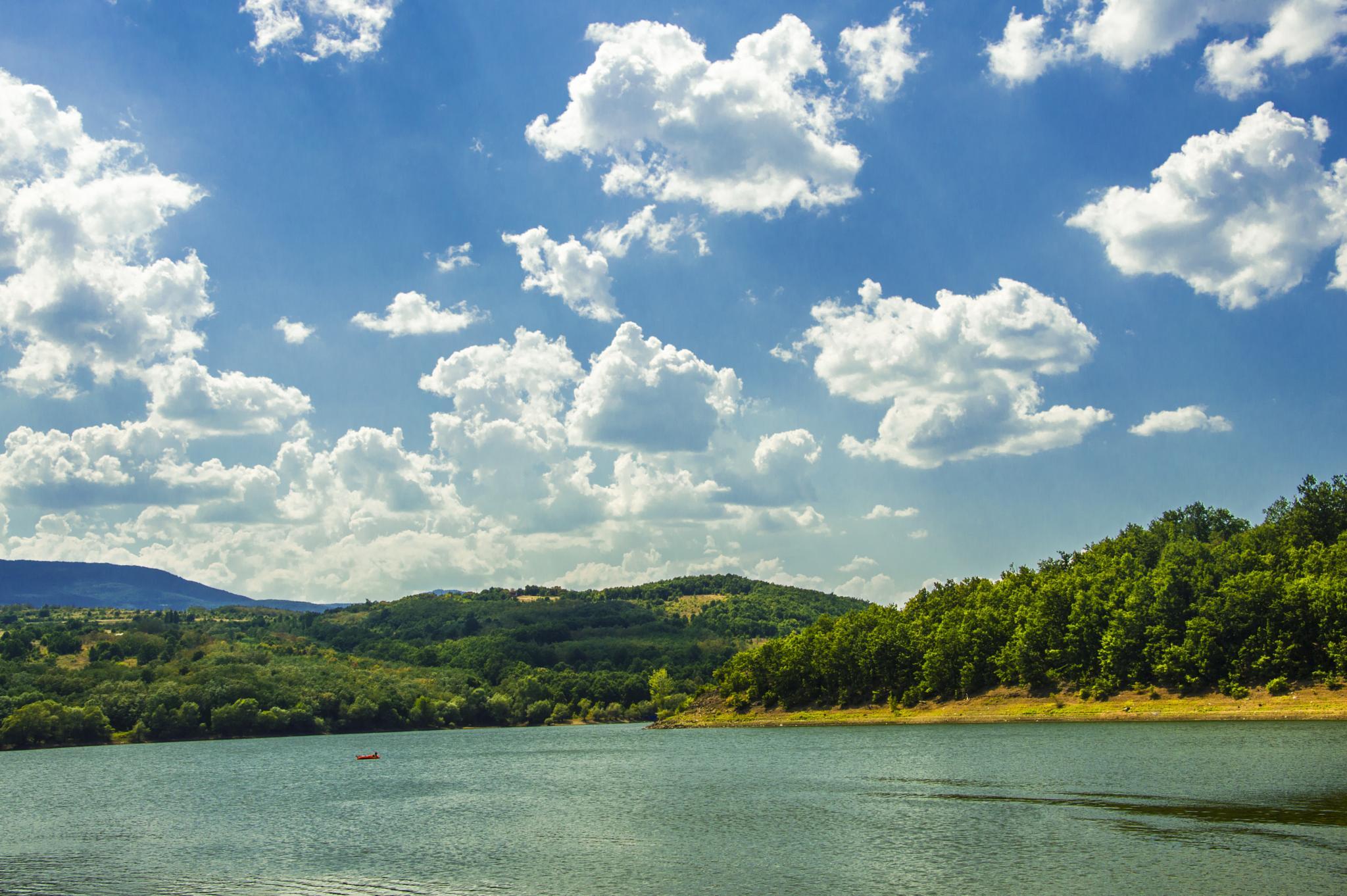 Bresotvac Lake by Miloš Stanković
