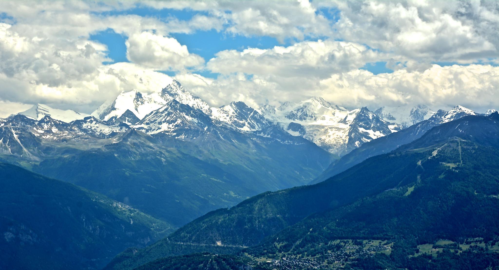 Cinematic Alps by floren