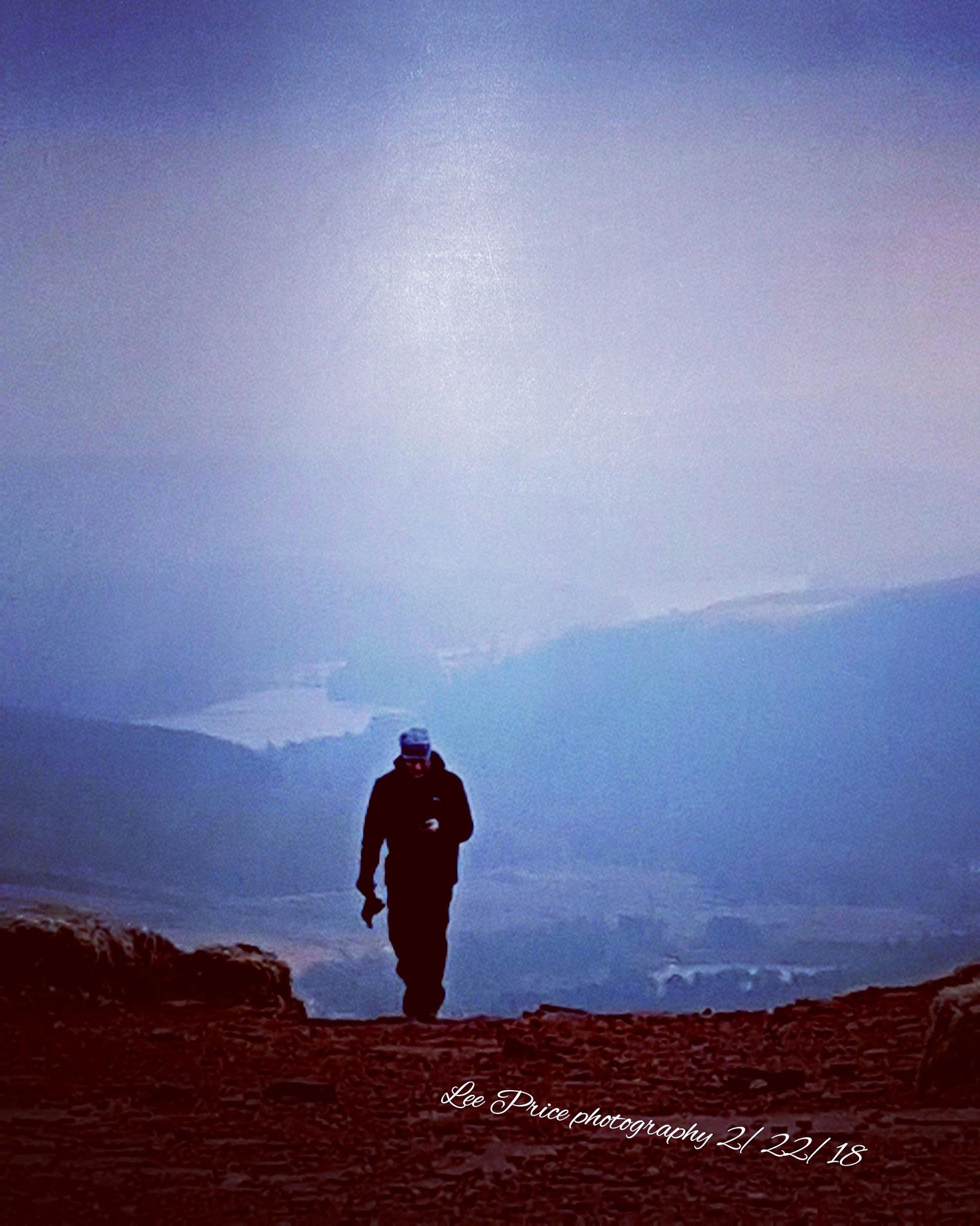 Lone walker  by lprice