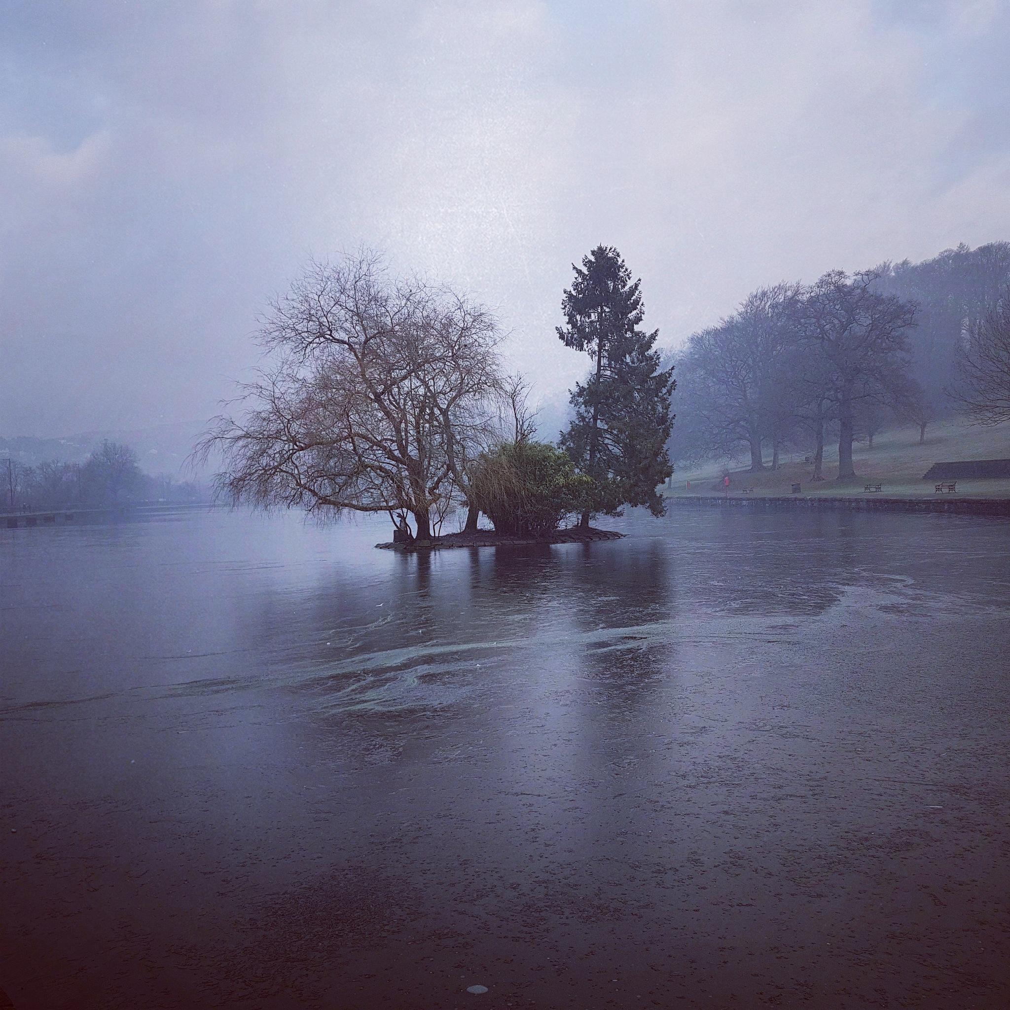 Frozen Lake by lprice