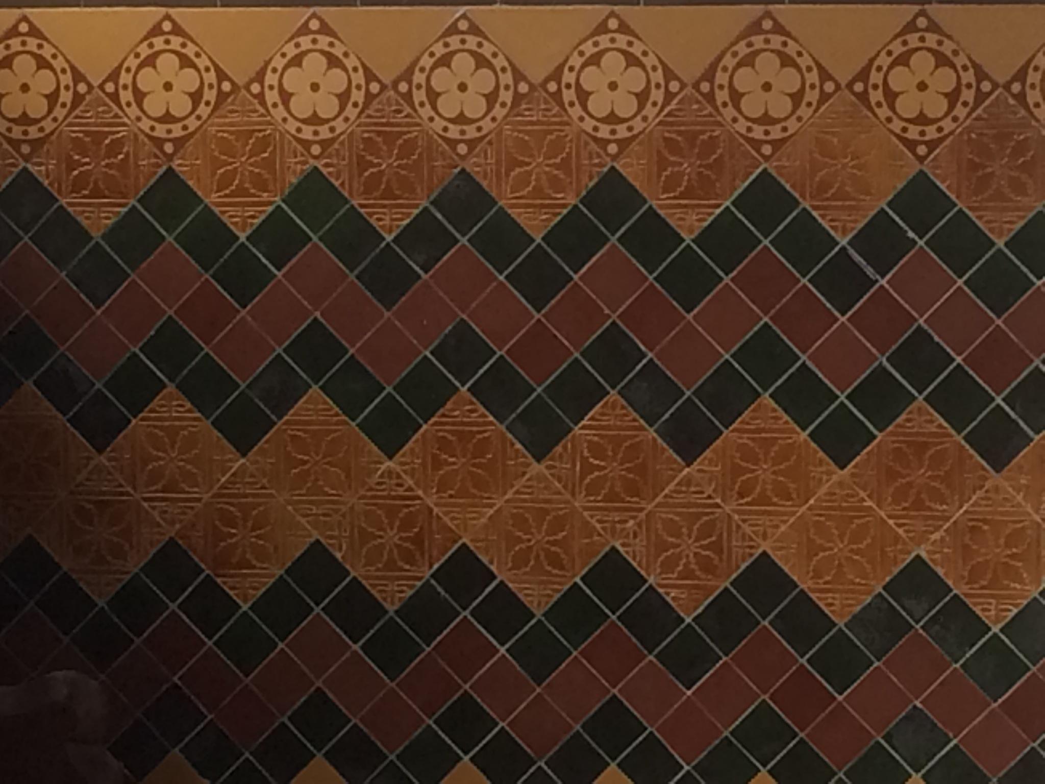 Funky Wall Tiling  by HelenaM