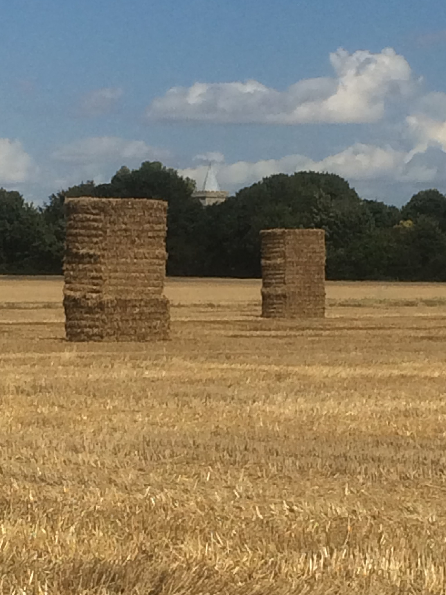 Giant Haystacks  by HelenaM