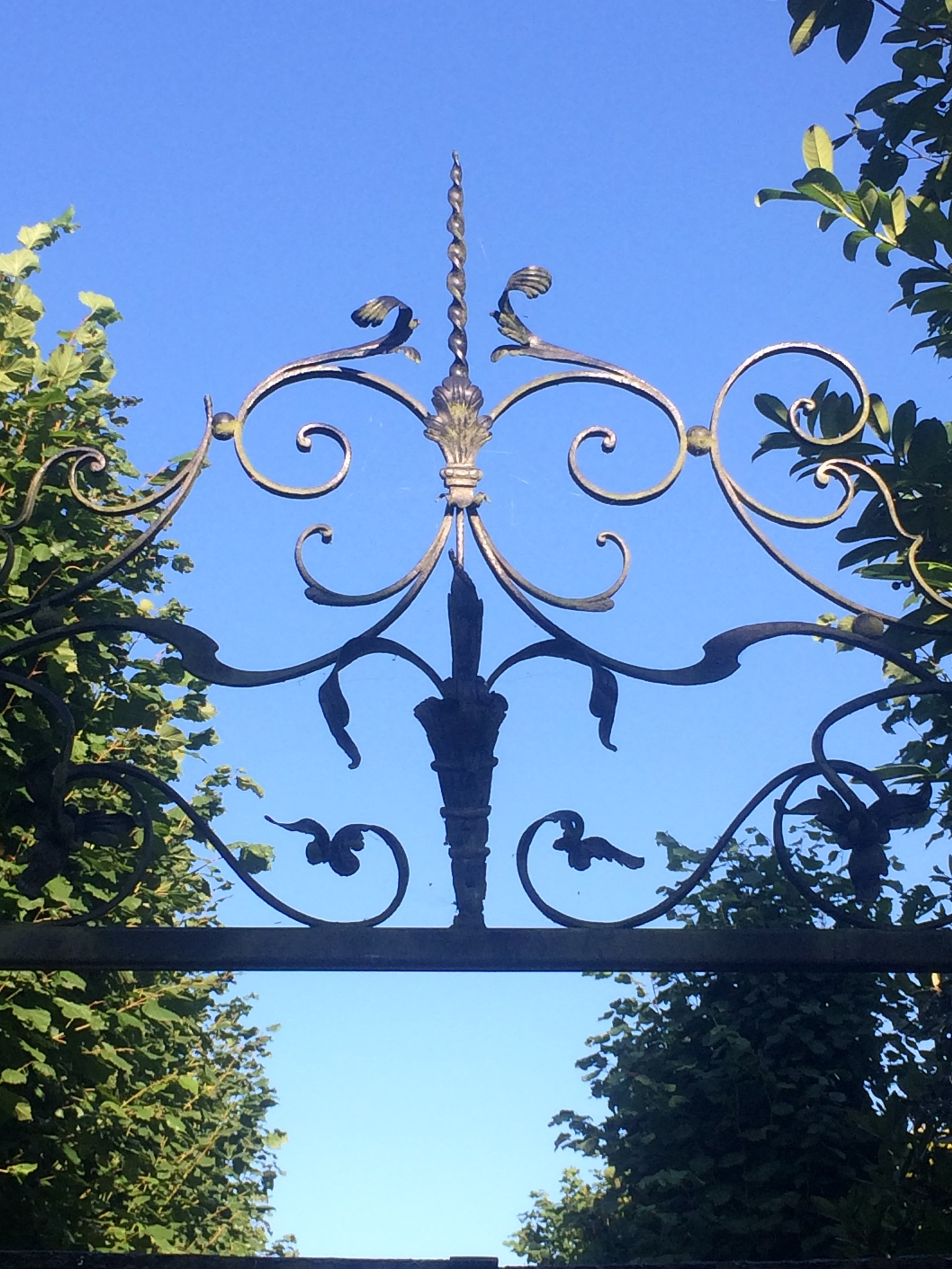 Wrought Iron Entrance  by HelenaM