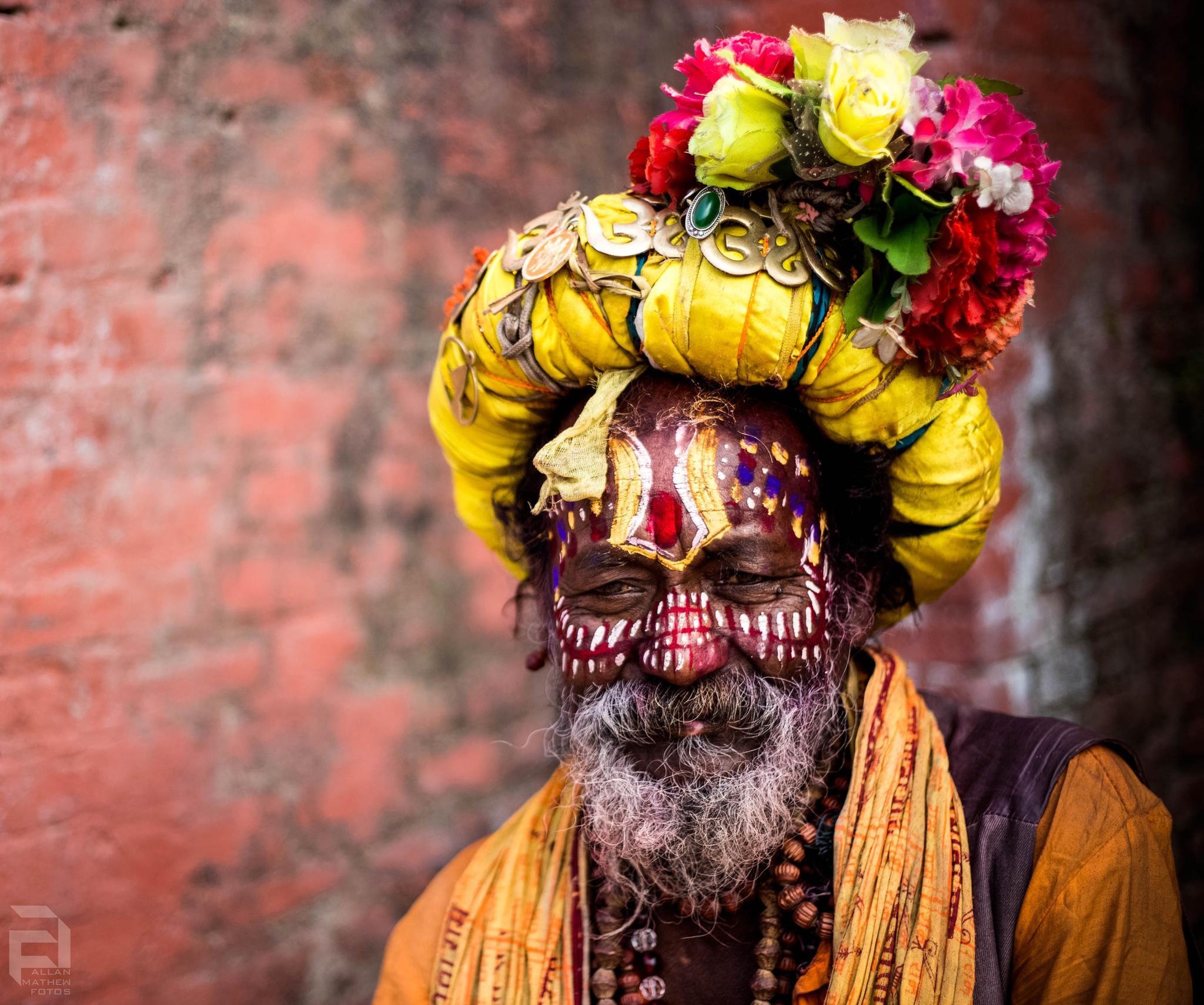 Nepali Sage  by haiiamallan