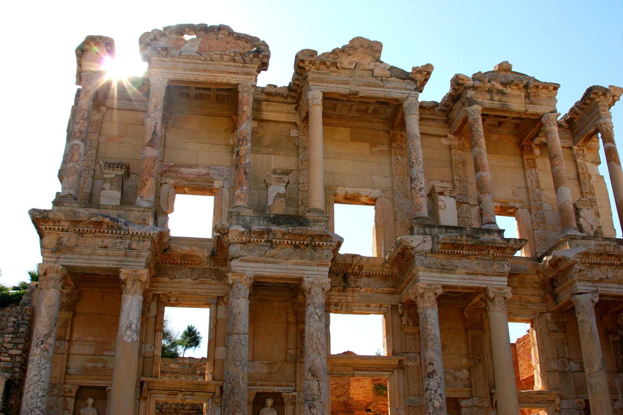 Celsus library,Ephesus, Turkey by mihai muraretu