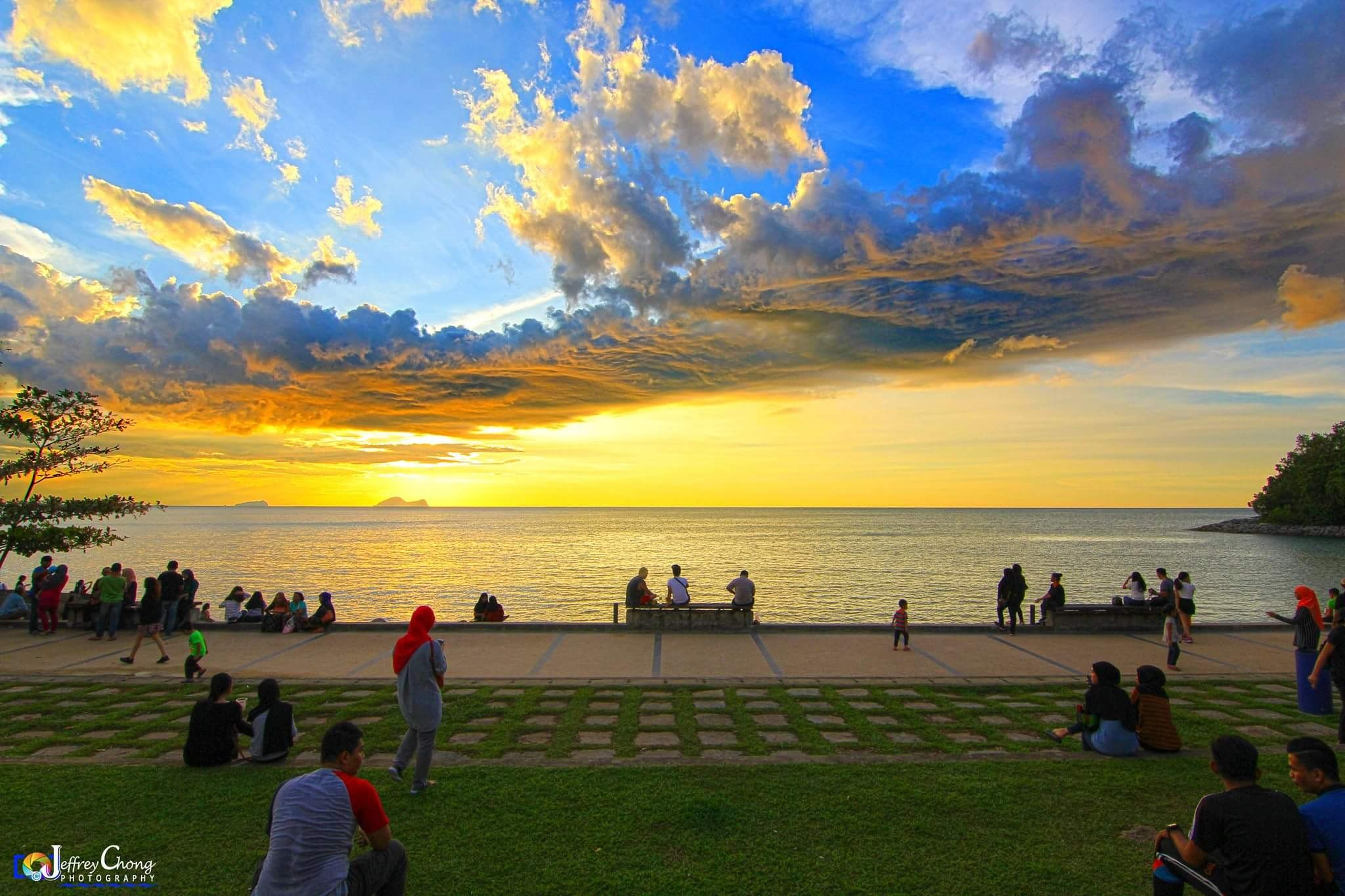 sunset by Jeffrey