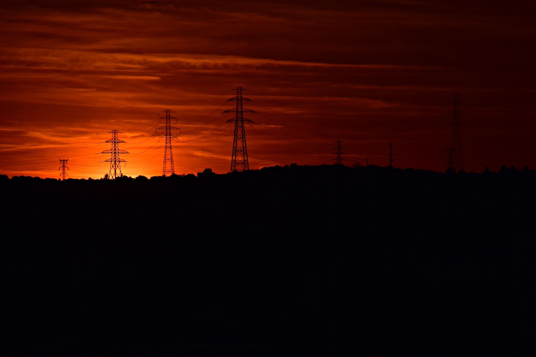 Sunset by Rita Cseh