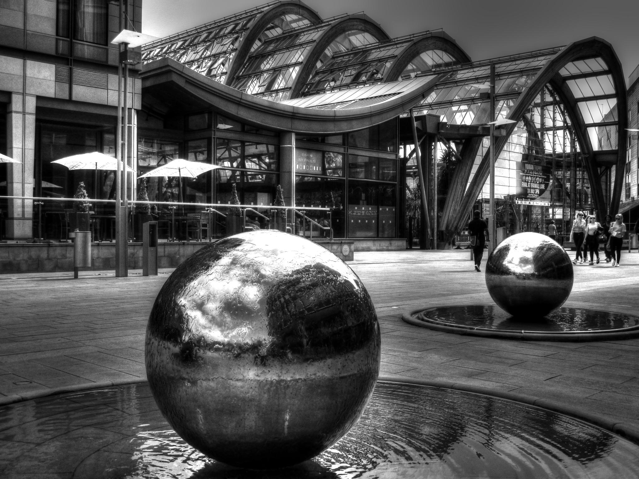 outside the winter gardens by steve simpson