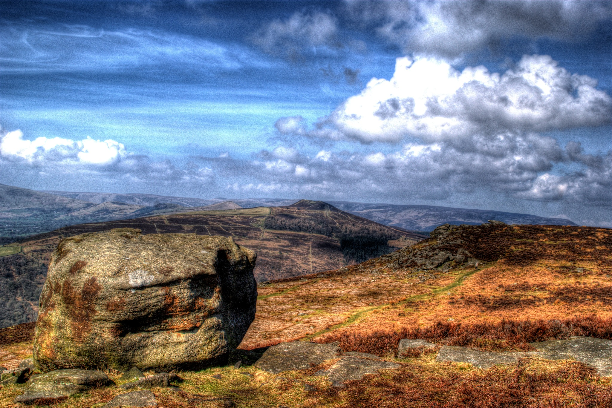 walking on the craggs by steve simpson