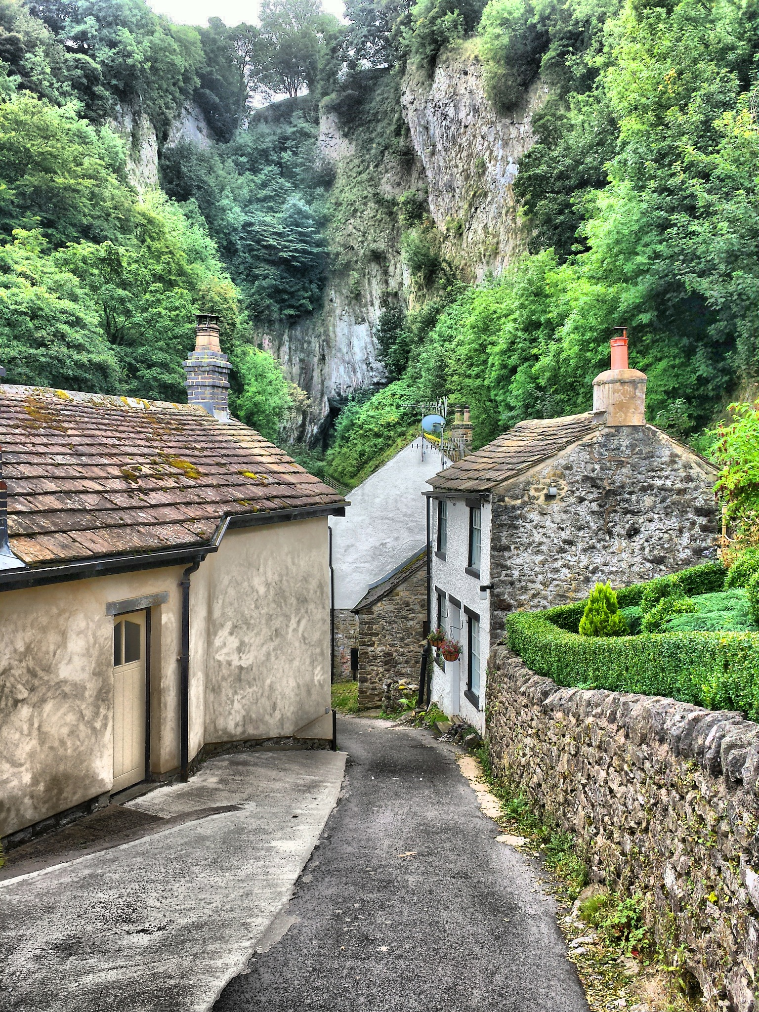 path to peak cavern  by steve simpson