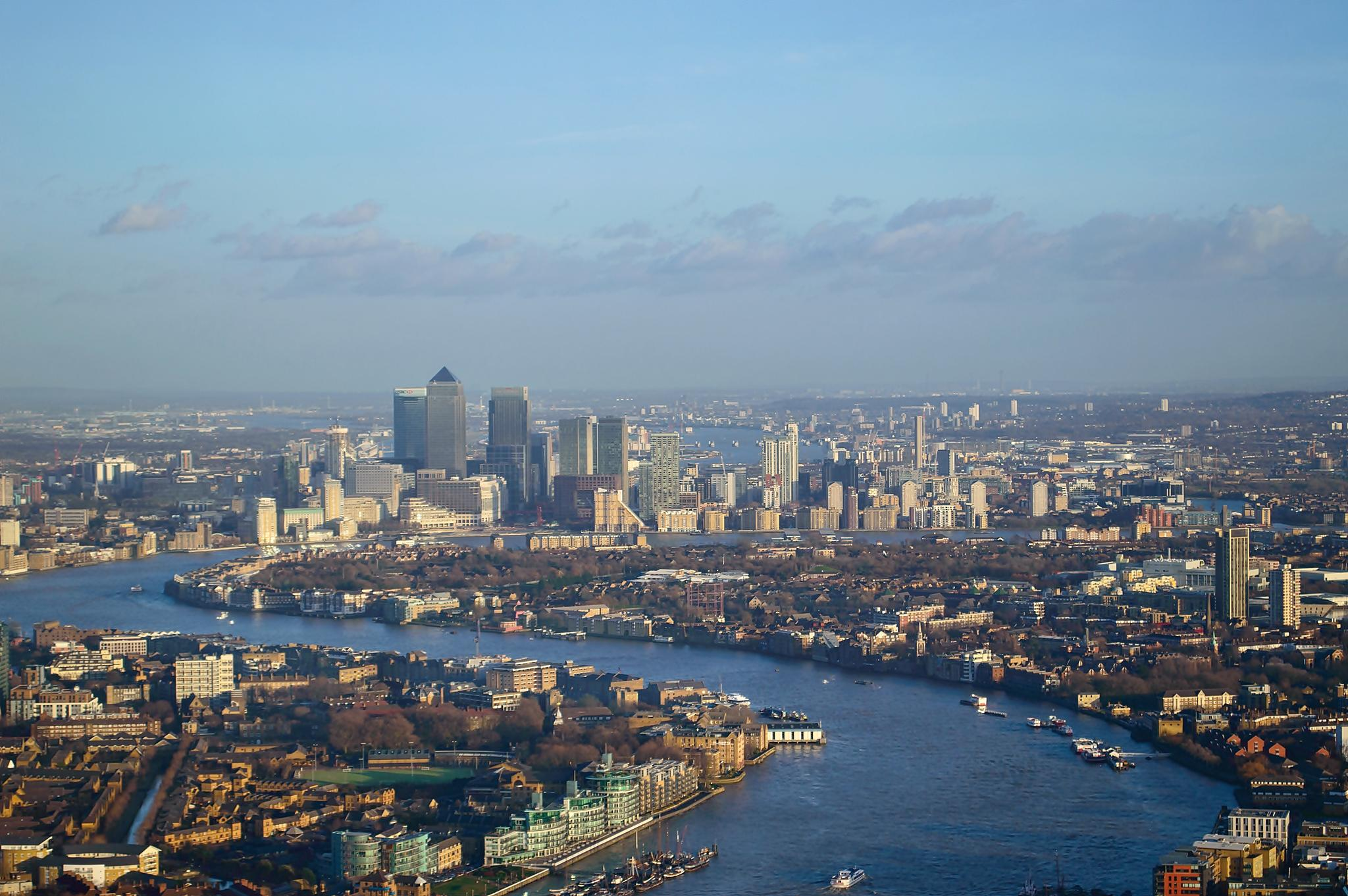 East From The Shard by Darrin Mayo