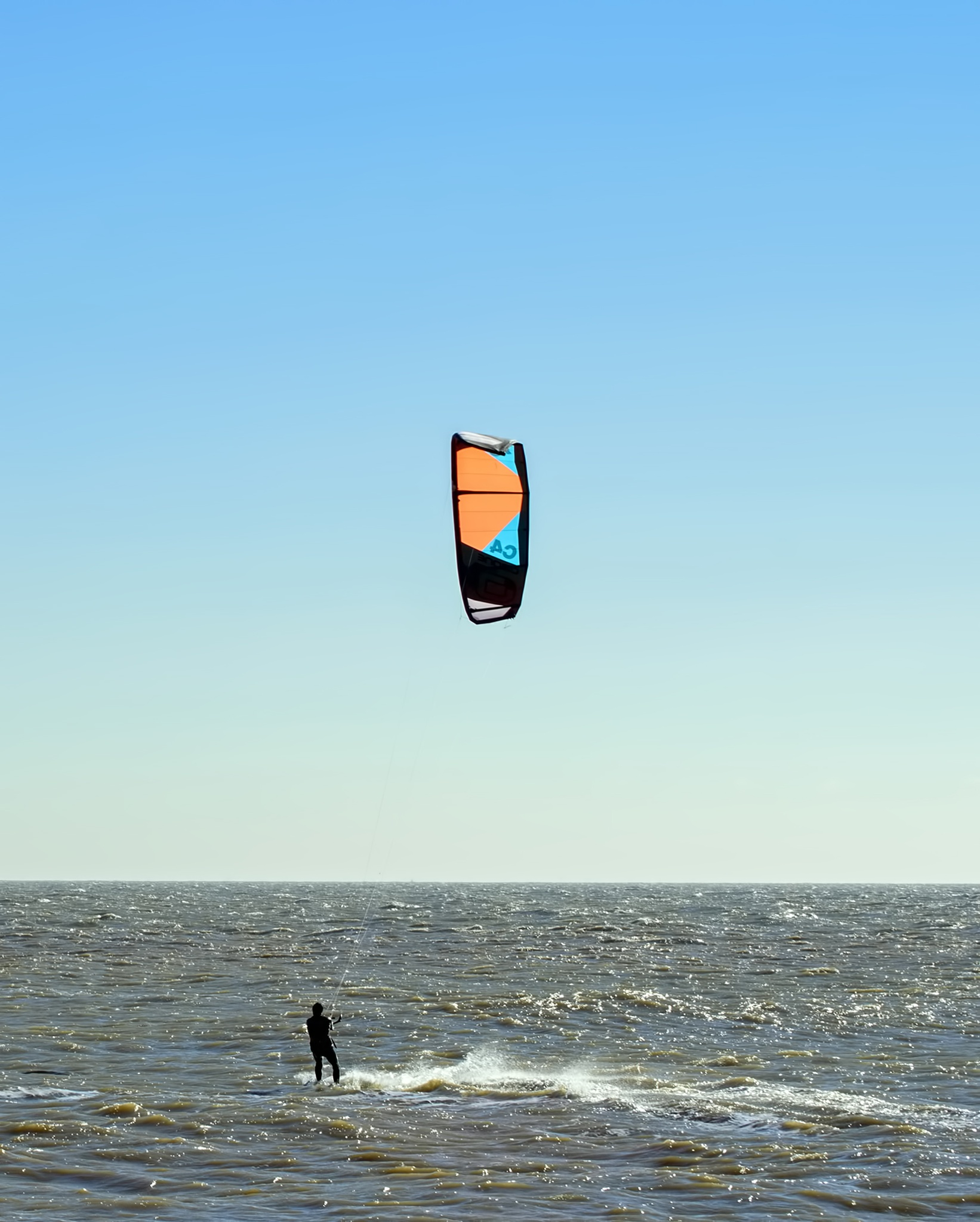 Kite Surfer by Darrin Mayo