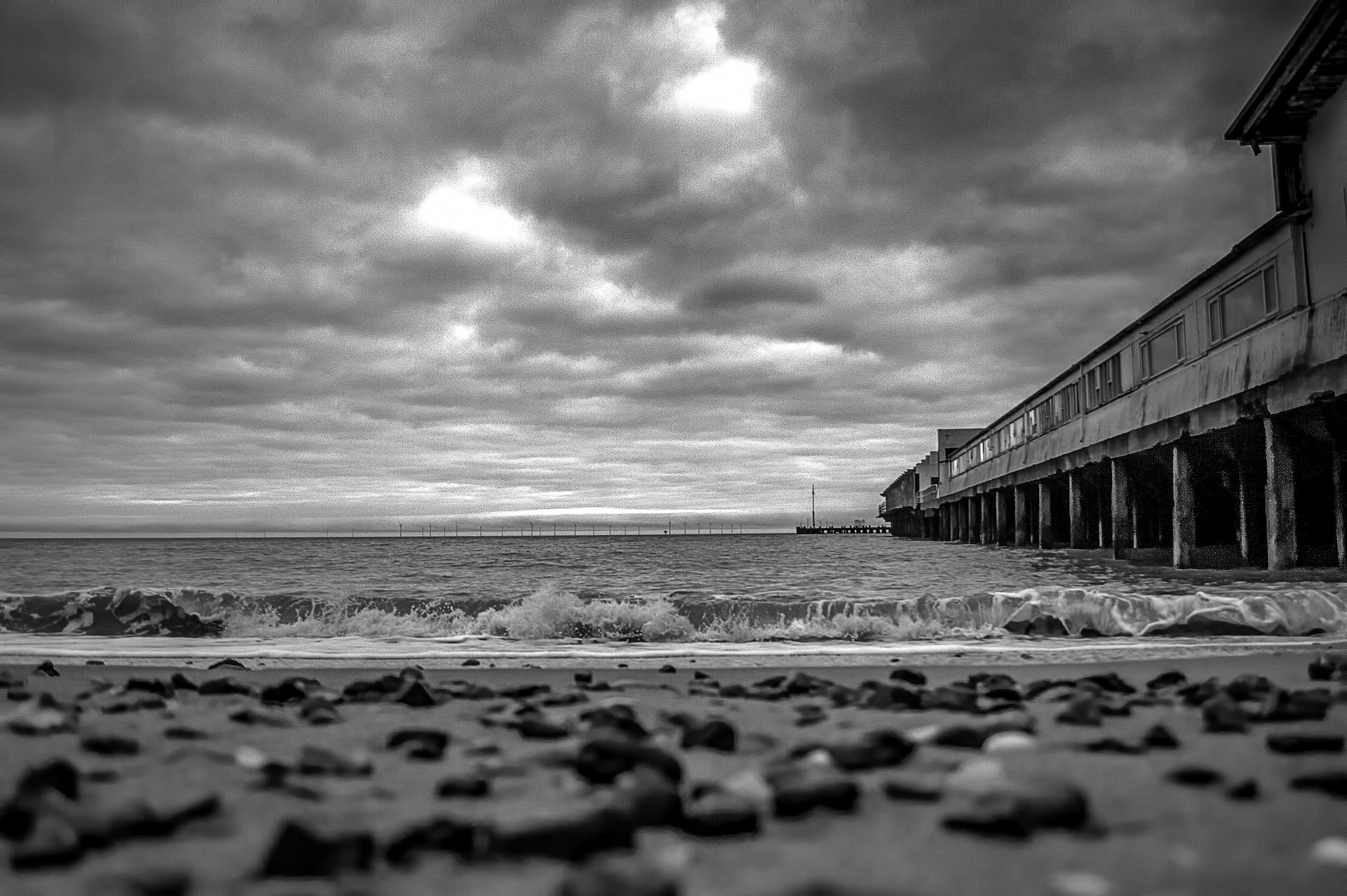 At the Seaside by Darrin Mayo