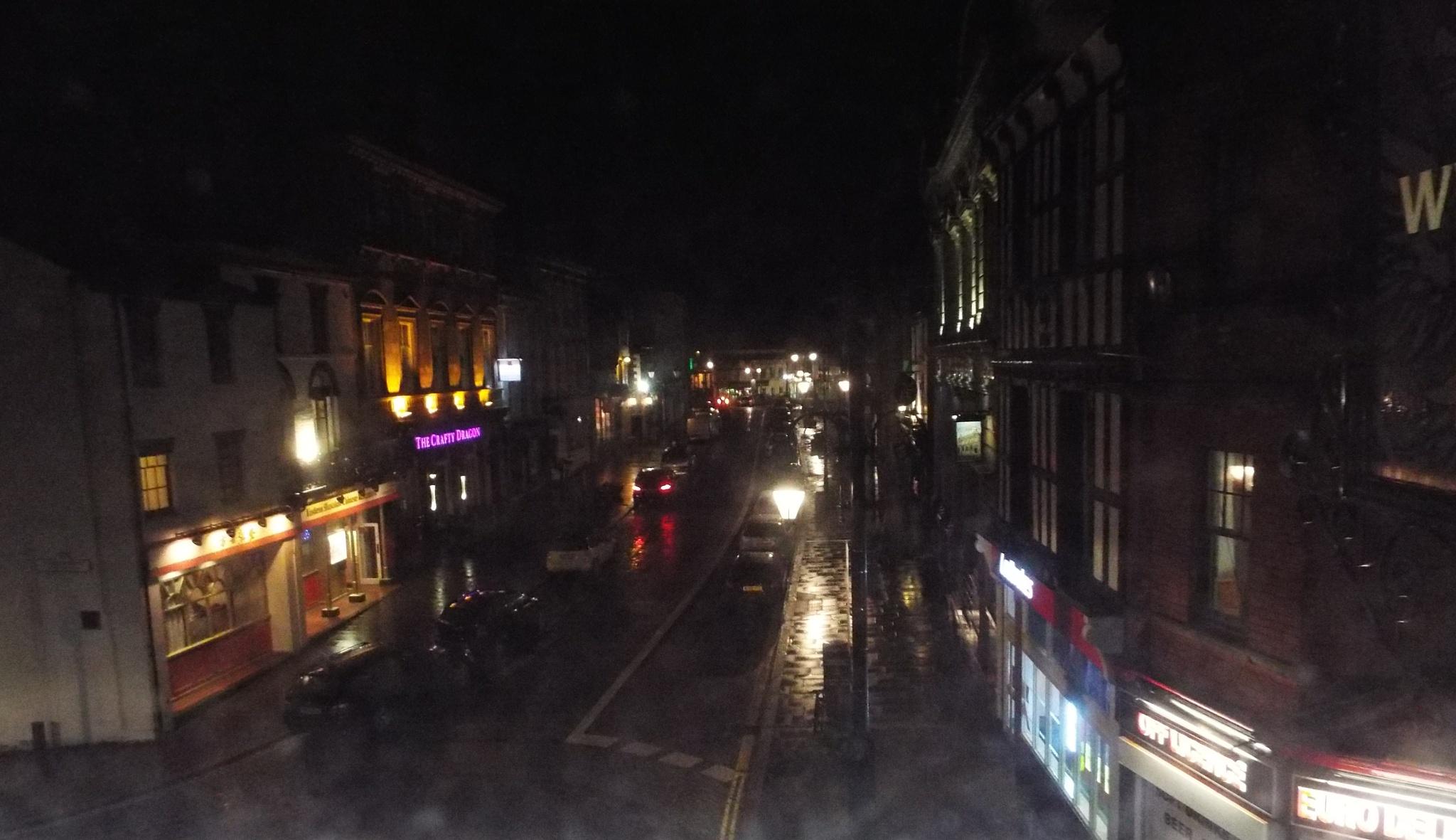 Wrexham High Street by julie