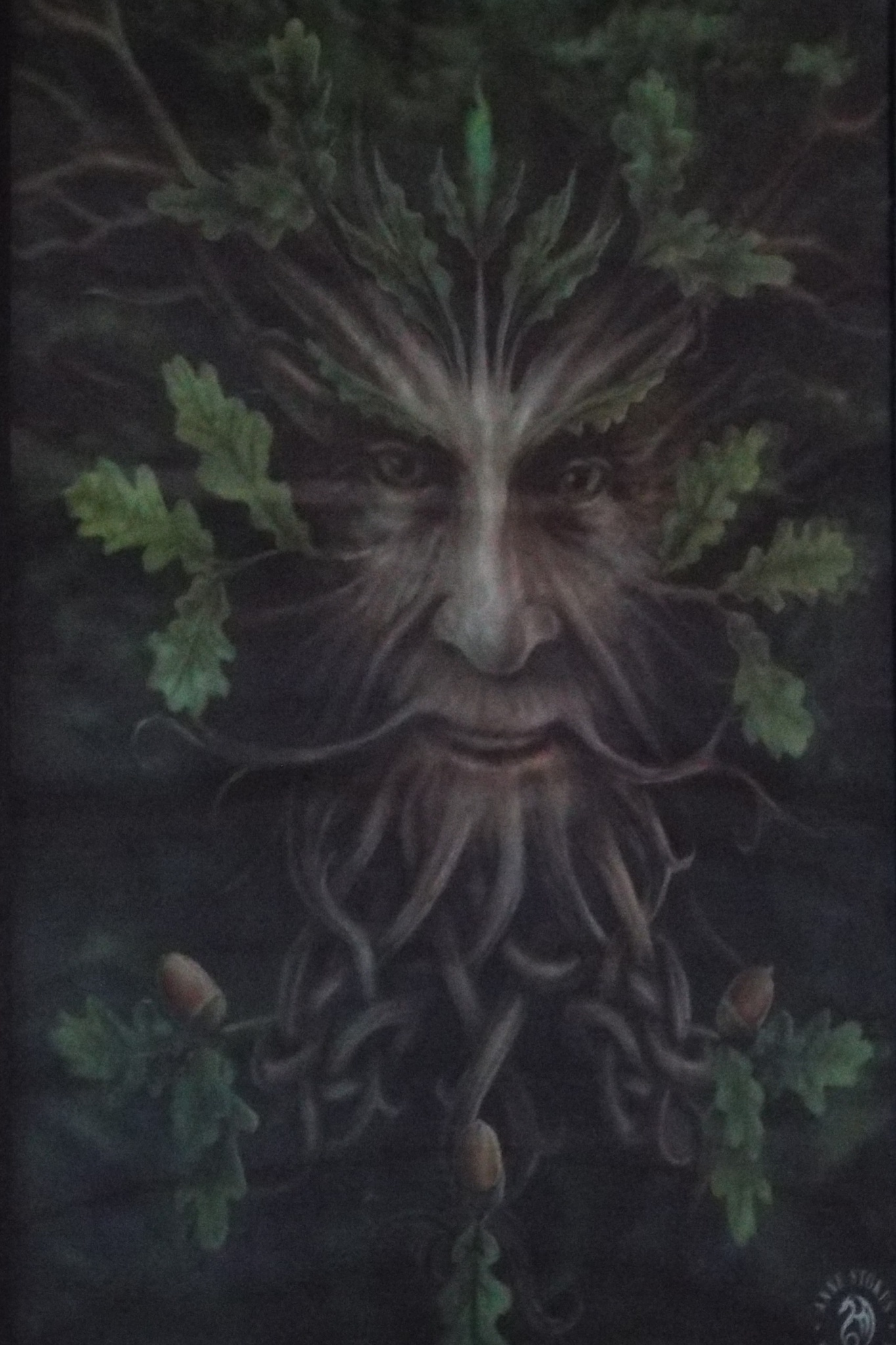 the green man by julie