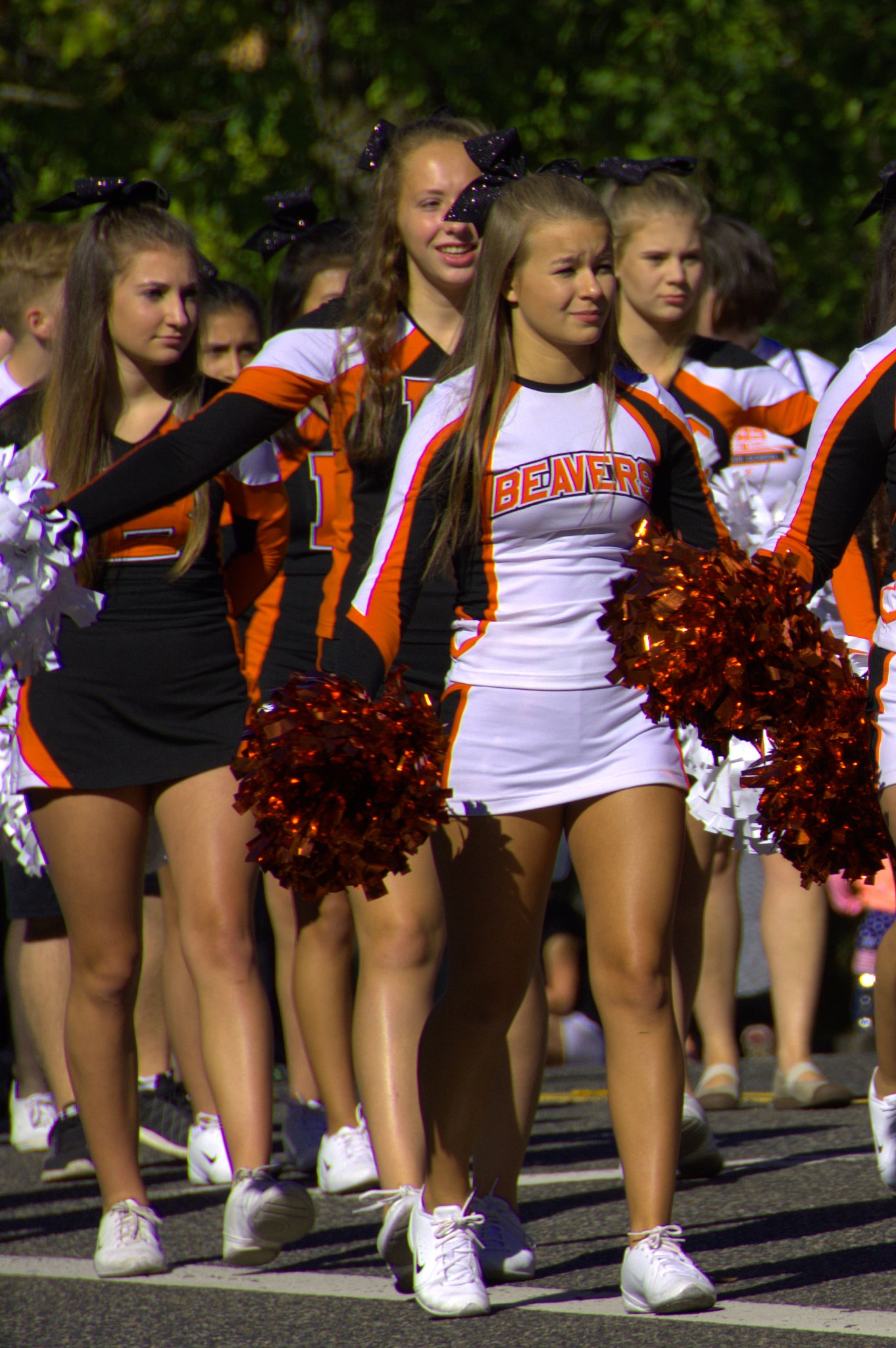 Beavers Cheer Squad by pscottwong