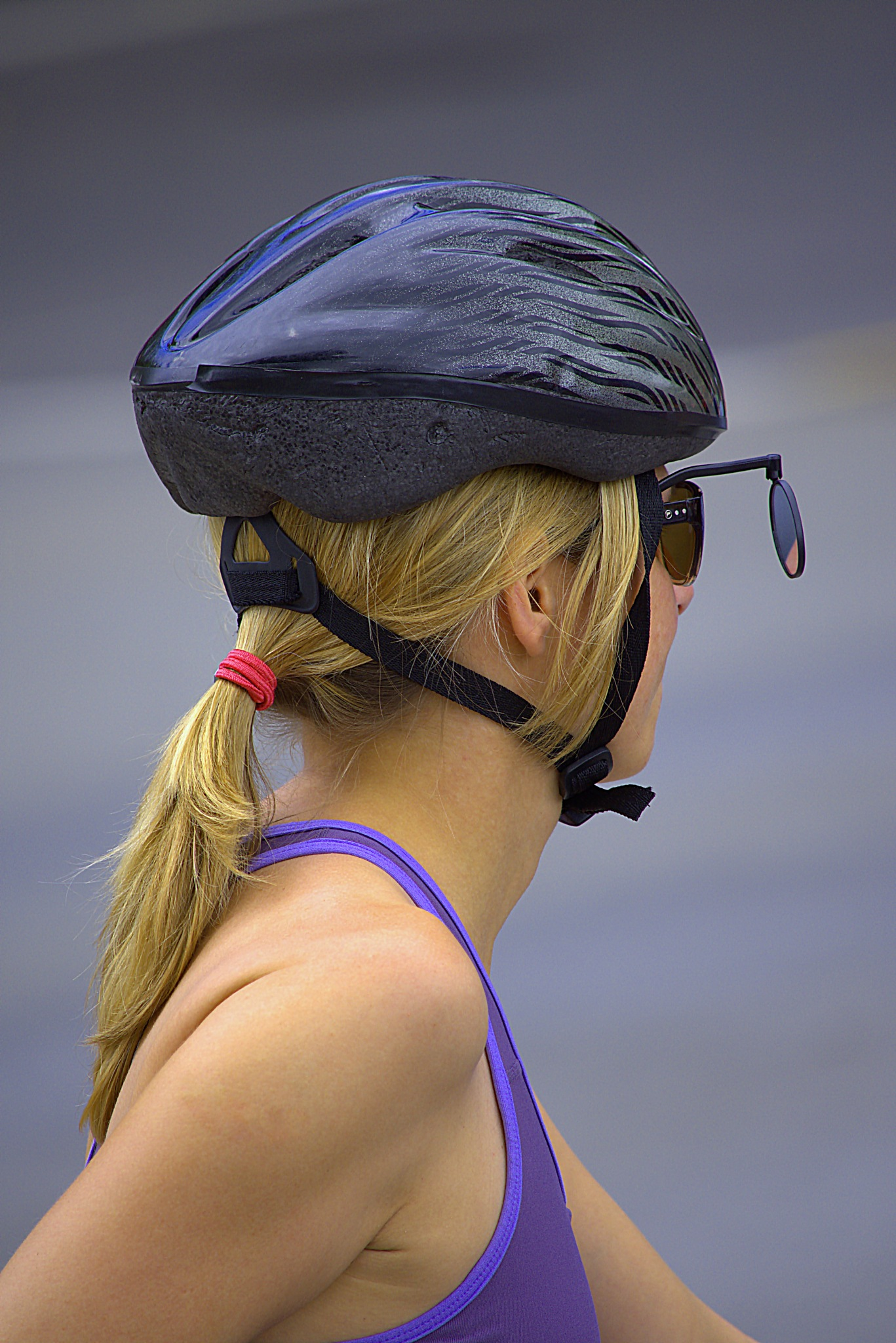 Cyclist Rear View by pscottwong