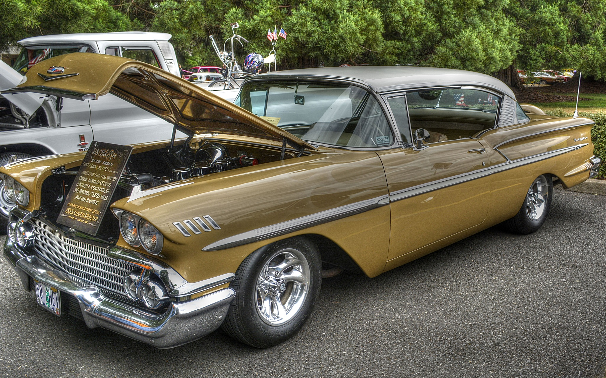 Chevy Bel Air 1958 by pscottwong