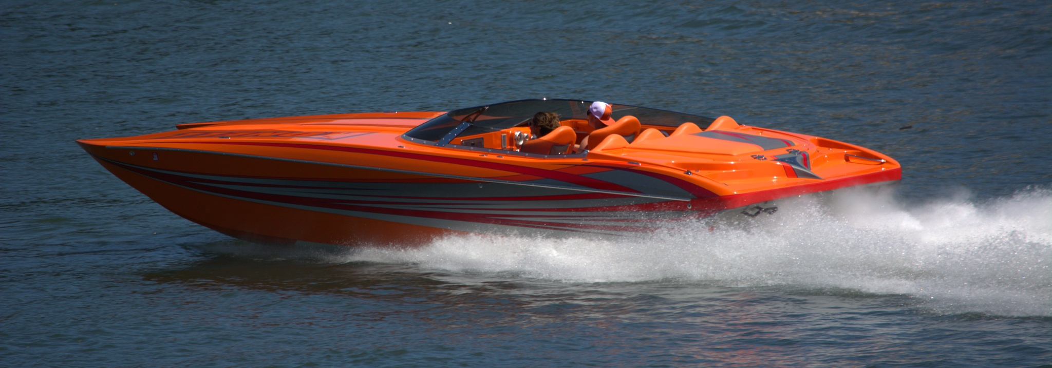 Photo in Sports #boat #recreation #fast #speed #speedboat #water #river #splash #awesome
