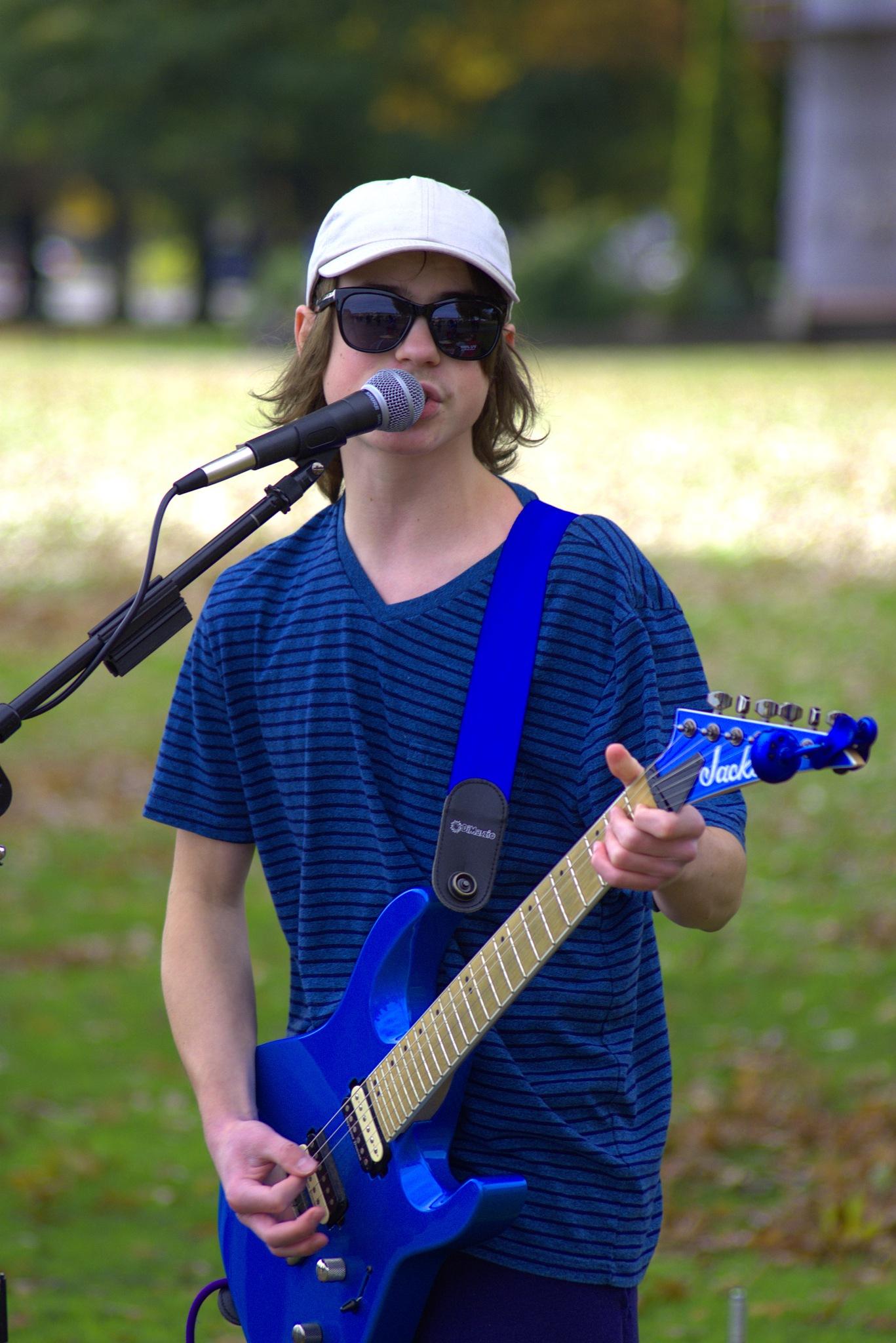 Talented Teen Rocker by pscottwong