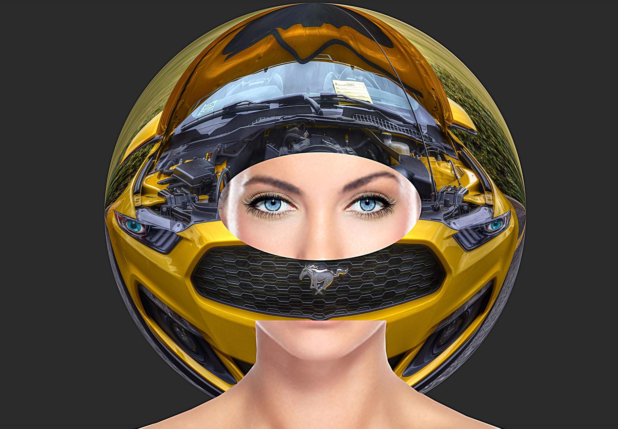 Her Racing Helmet by pscottwong