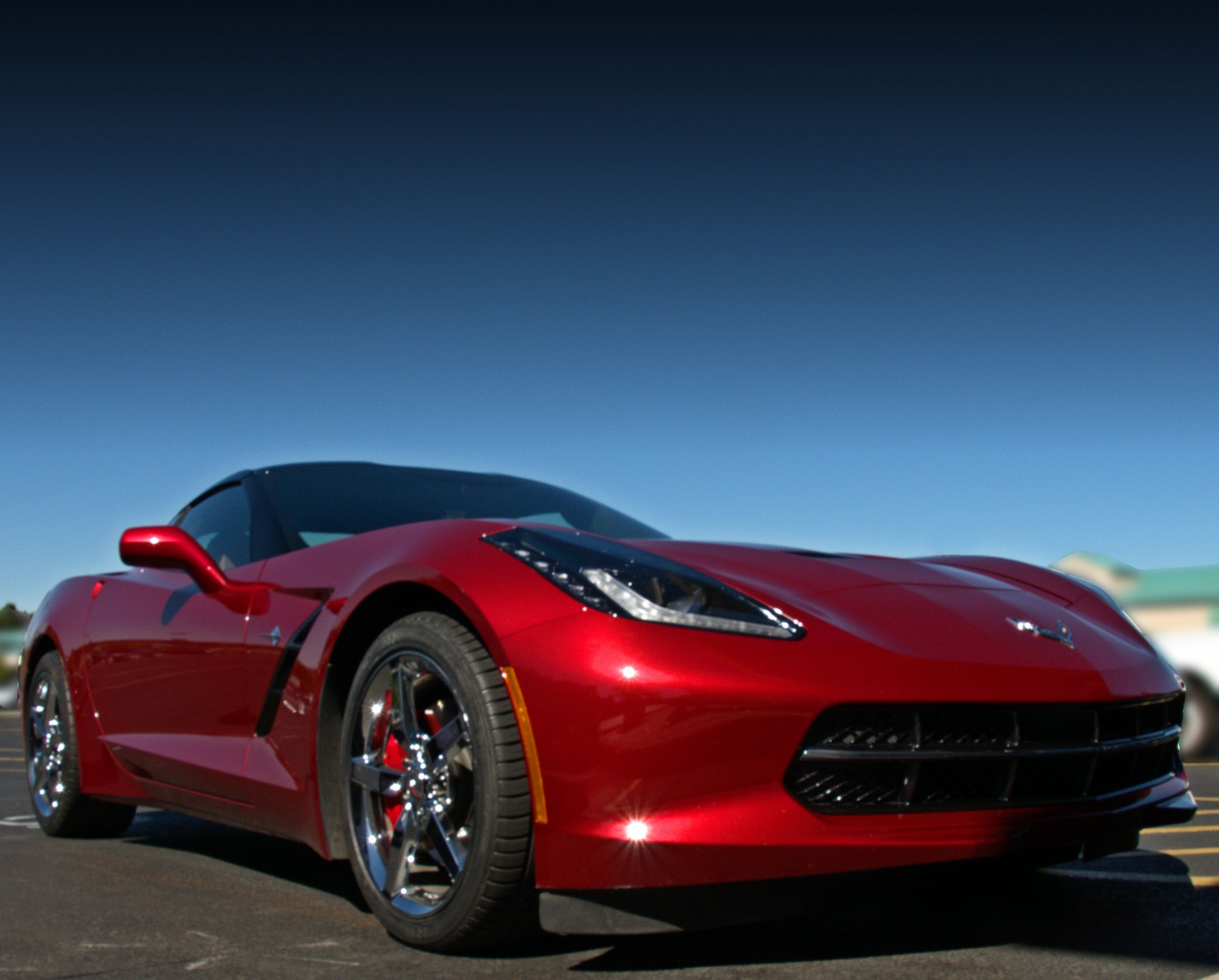 Red Corvette by pscottwong