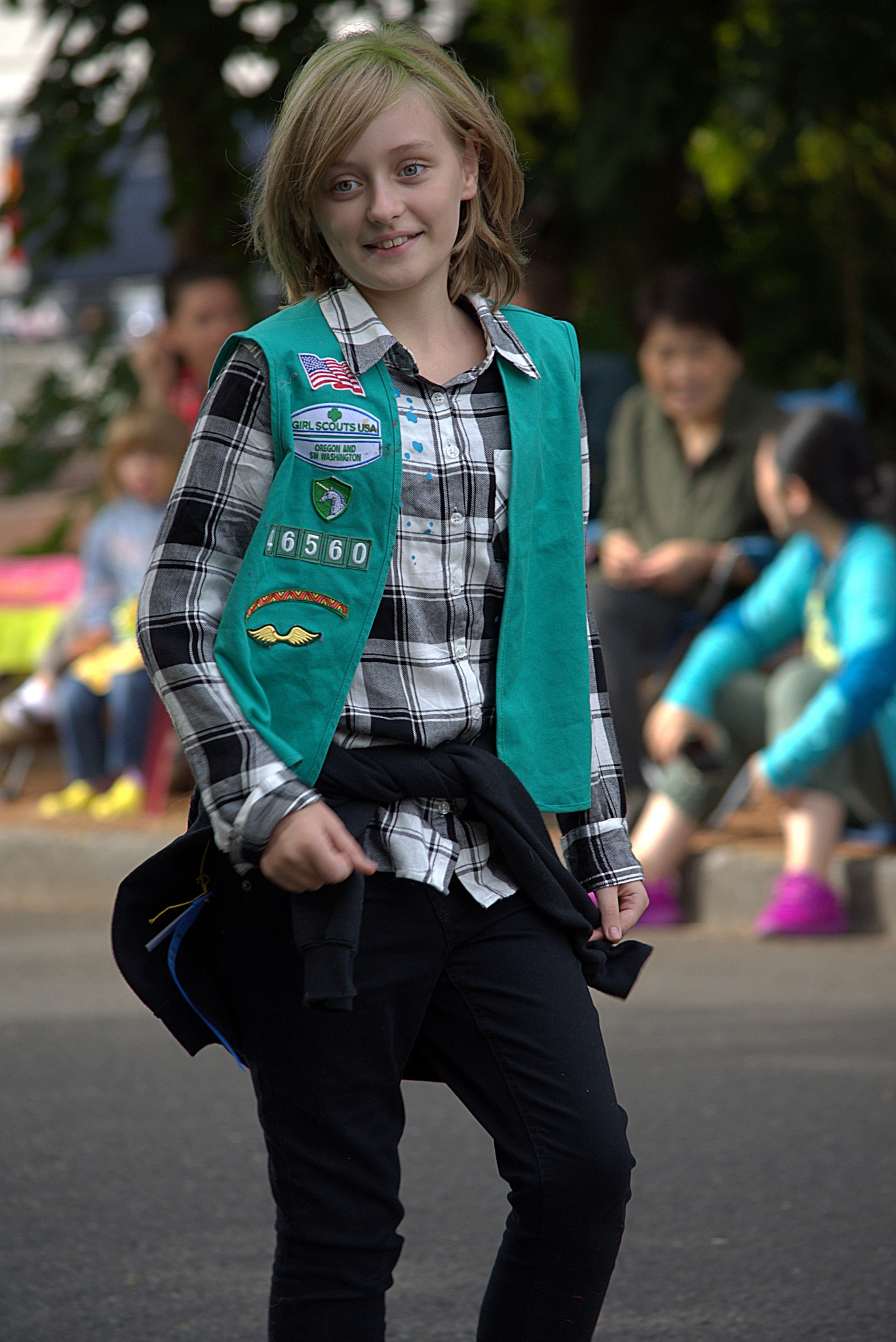Girl Scout On Parade by pscottwong