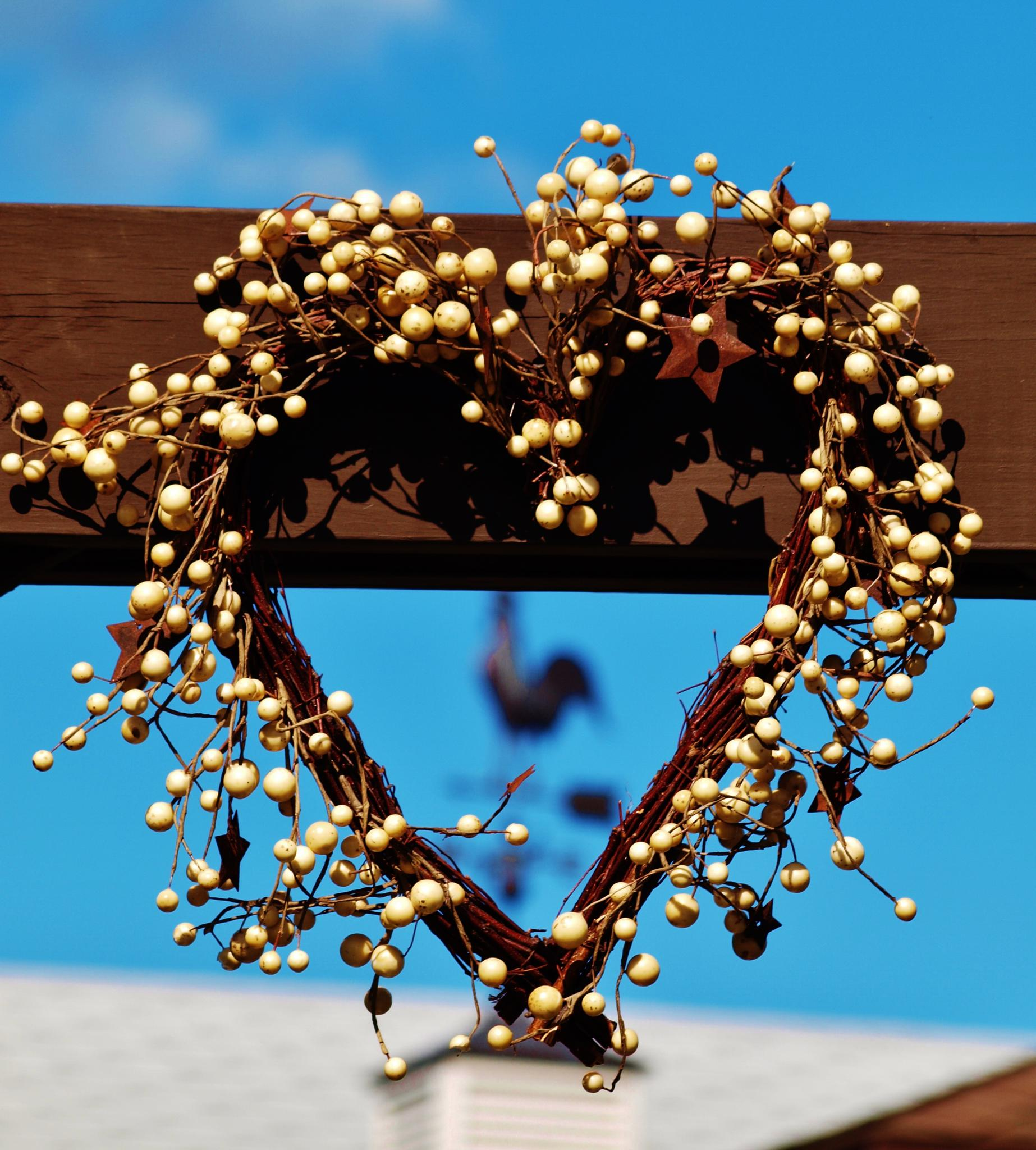 Heart Shaped Wreath by wendemar
