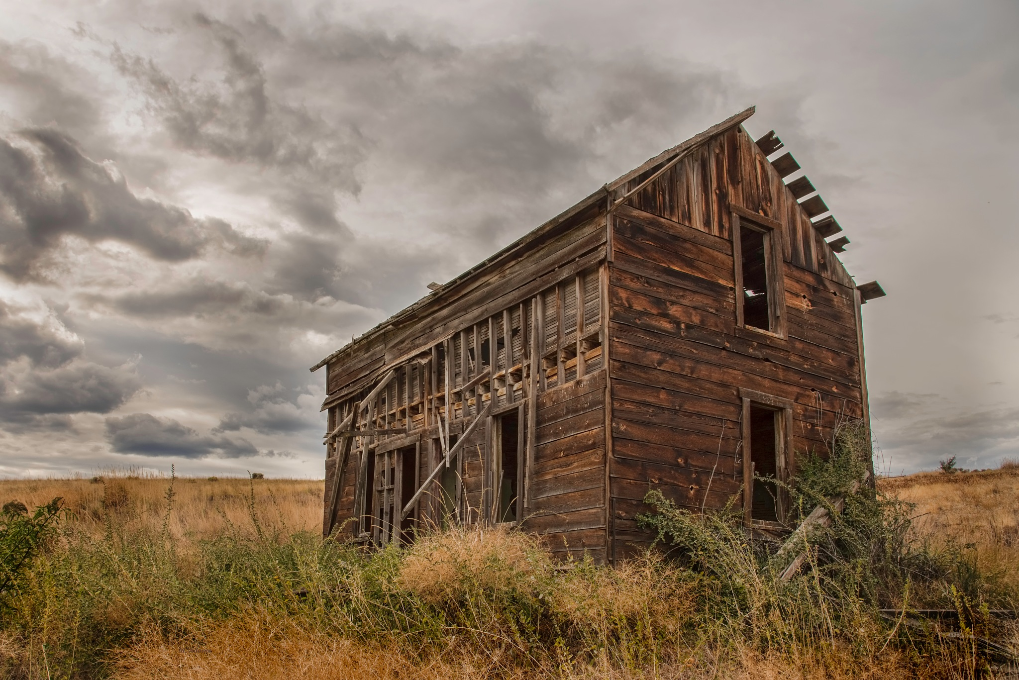 Abandoned House by Mike Adams
