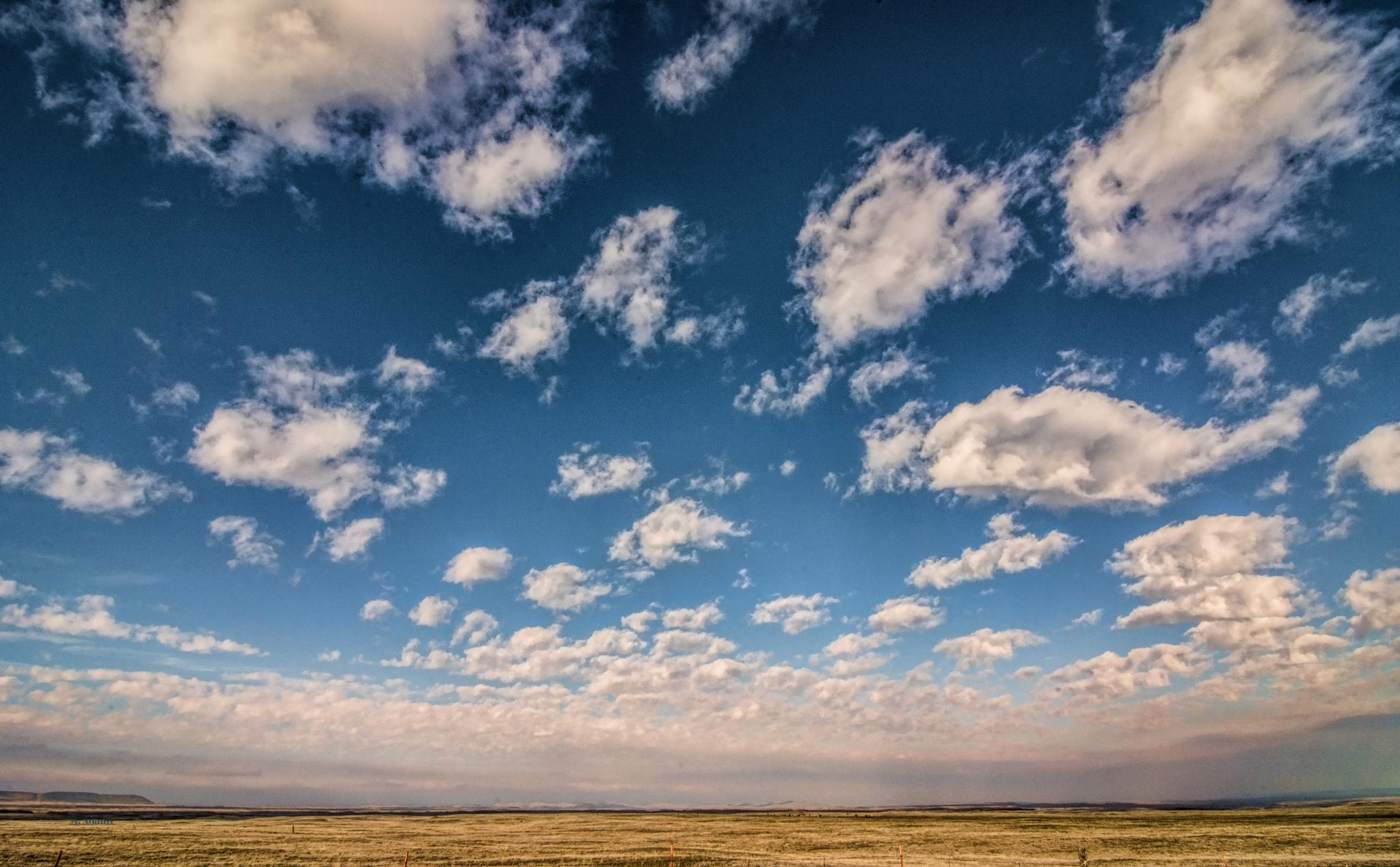 Palouse Clouds by Mike Adams