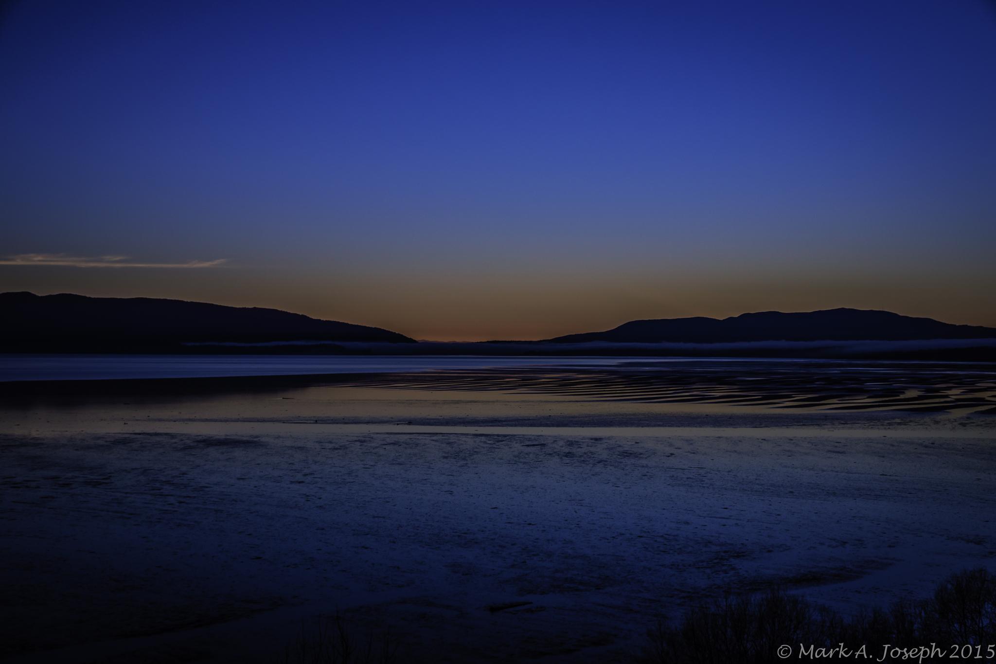 Bellingham Bay Twilight by Mark Joseph