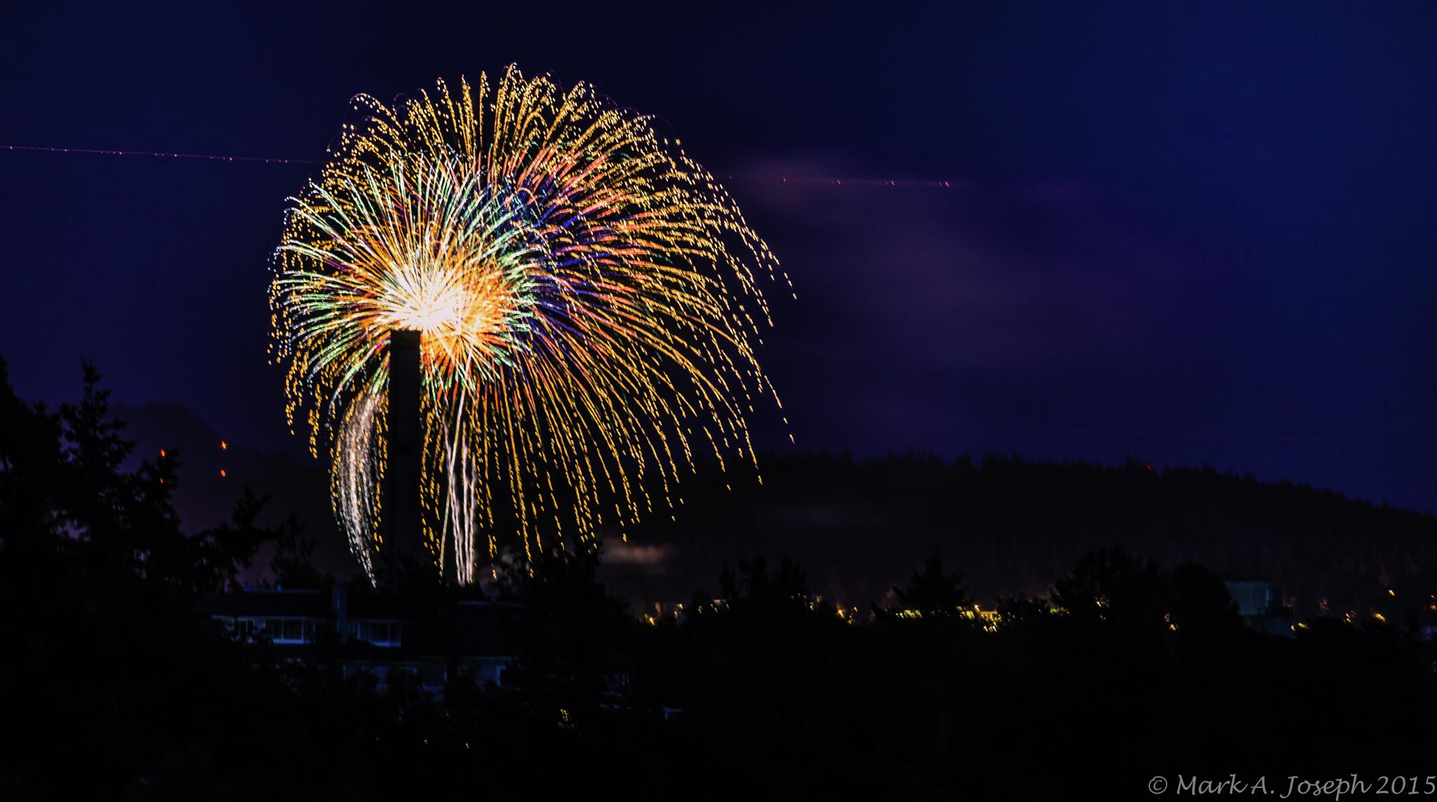 Fireworks by Mark Joseph