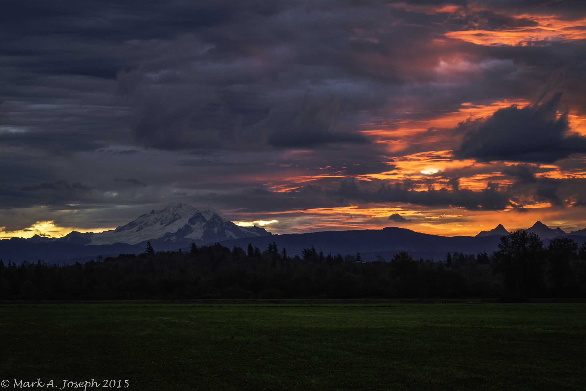 Red Sky In The Morn by Mark Joseph