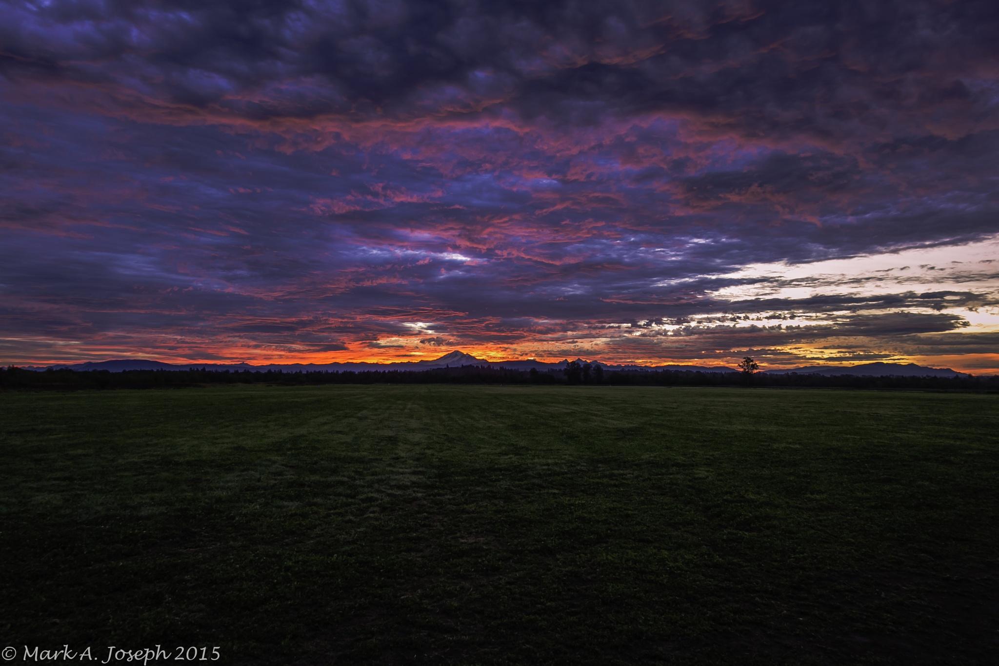 Lava Sunrise by Mark Joseph