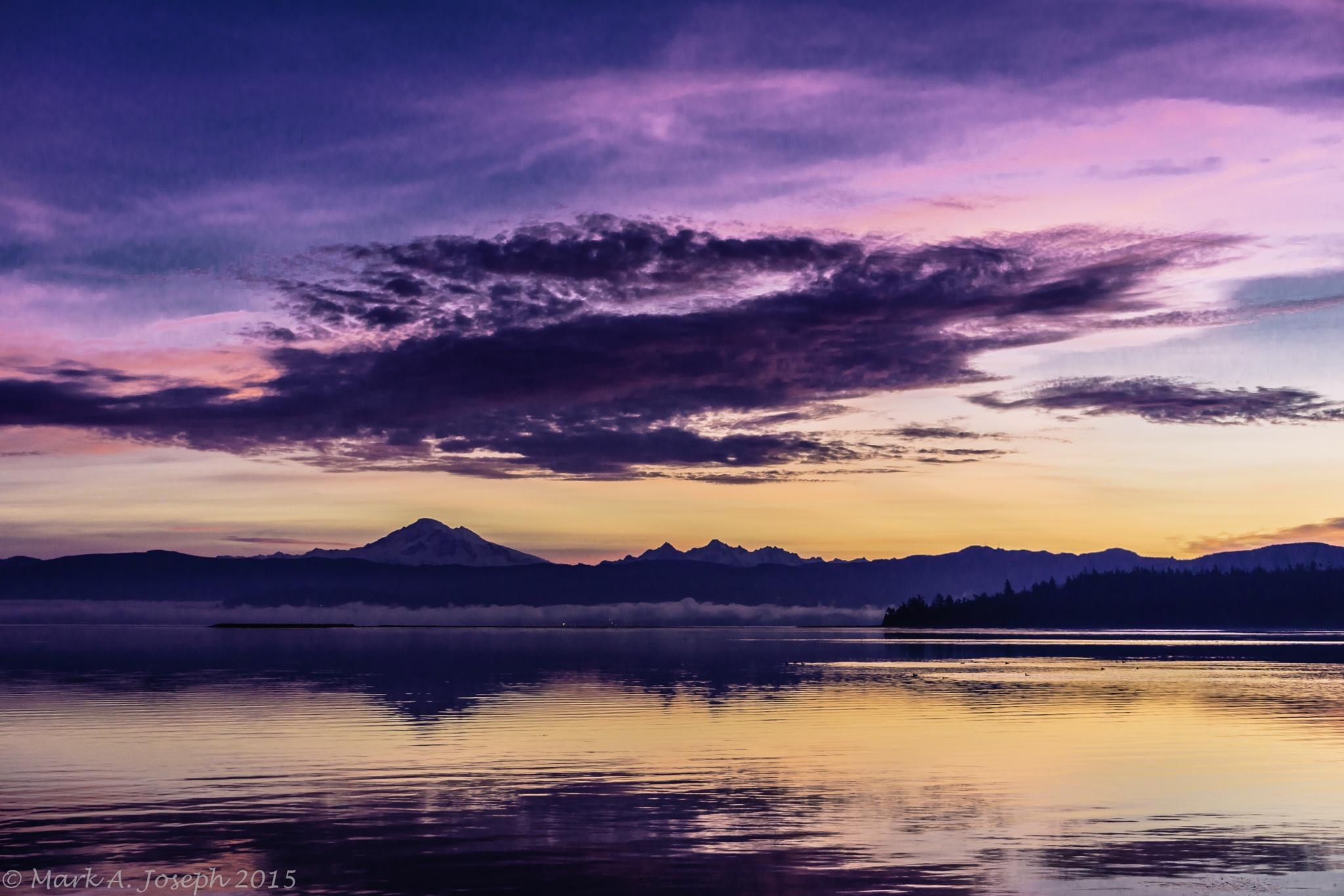 Spectacular Sunrise by Mark Joseph
