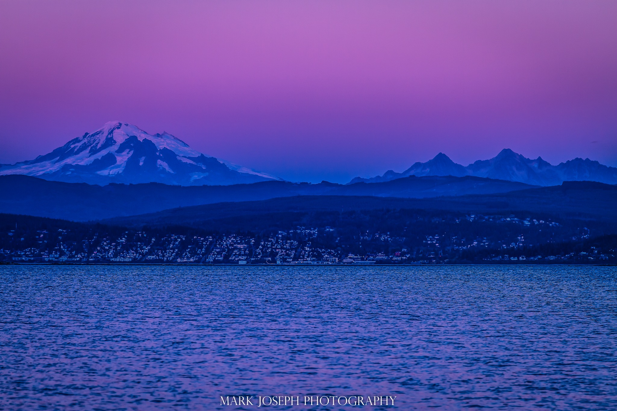 The Beauty of Mt. Baker by Mark Joseph